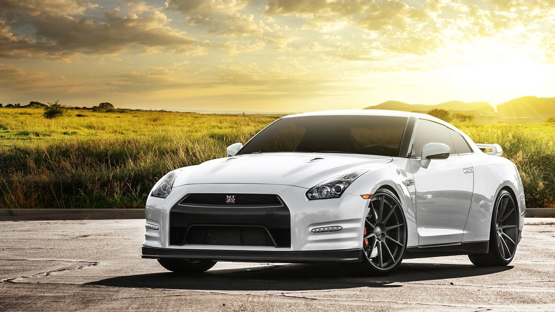 Nissan GTR in Matte Pink HD Wide Wallpaper for Widescreen (71 Wallpapers) –  HD Wallpapers
