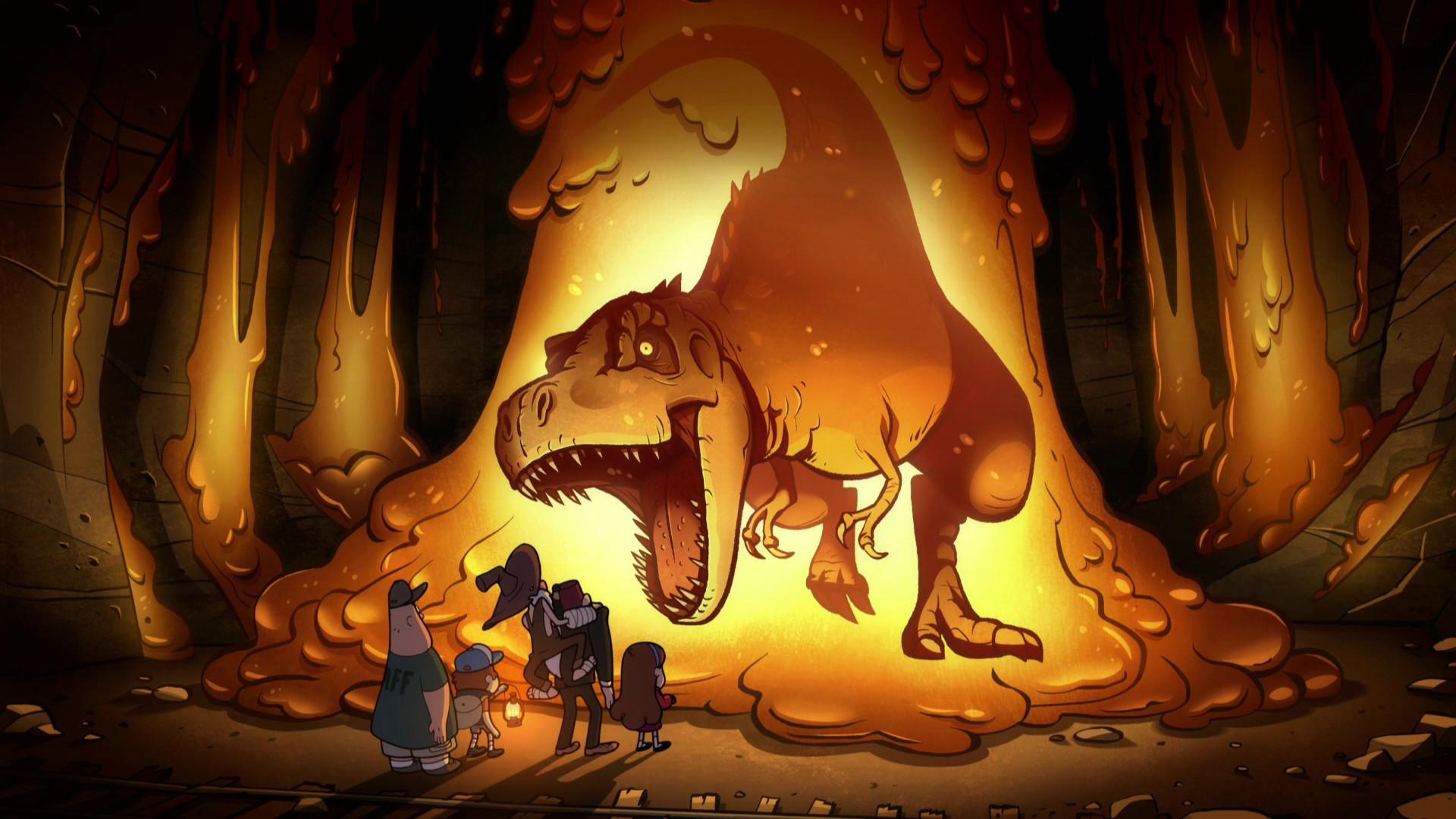 TV Show – Gravity Falls Dinosaur Tyrannosaurus Rex Wallpaper