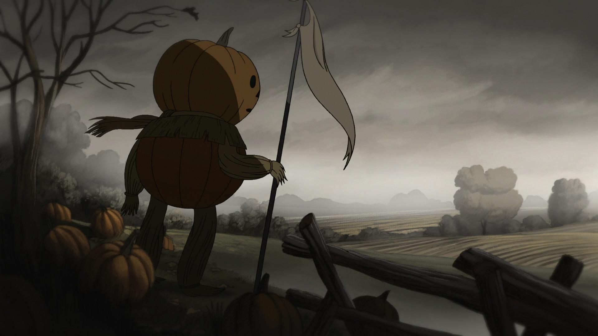 … the Garden Wall pumpkinman (.
