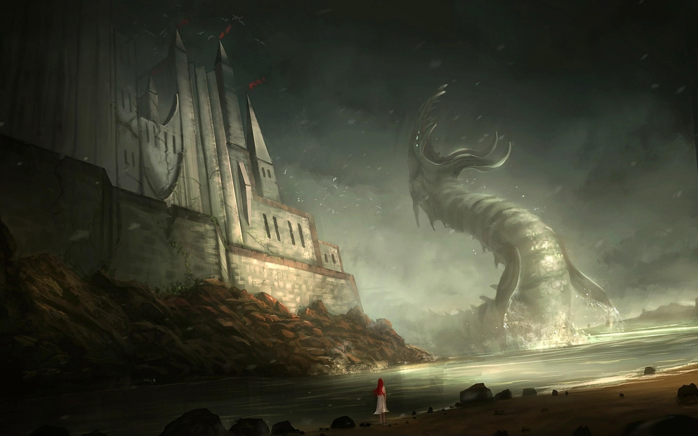 giant monster wallpaper part 2