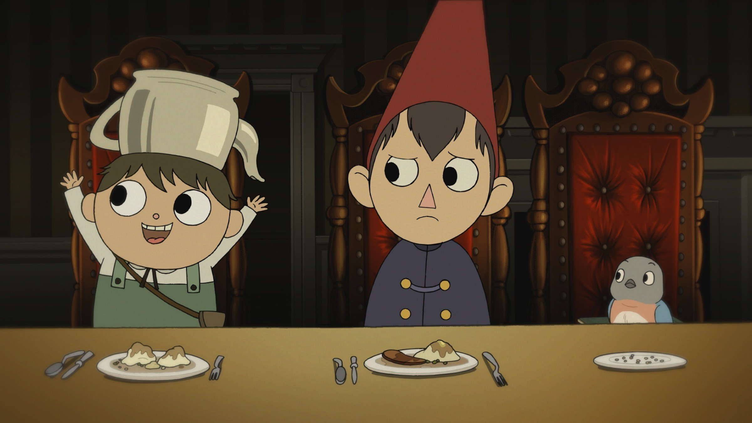 During the dinner – Over The Garden Wall Wallpaper (2400×1350) (218817)