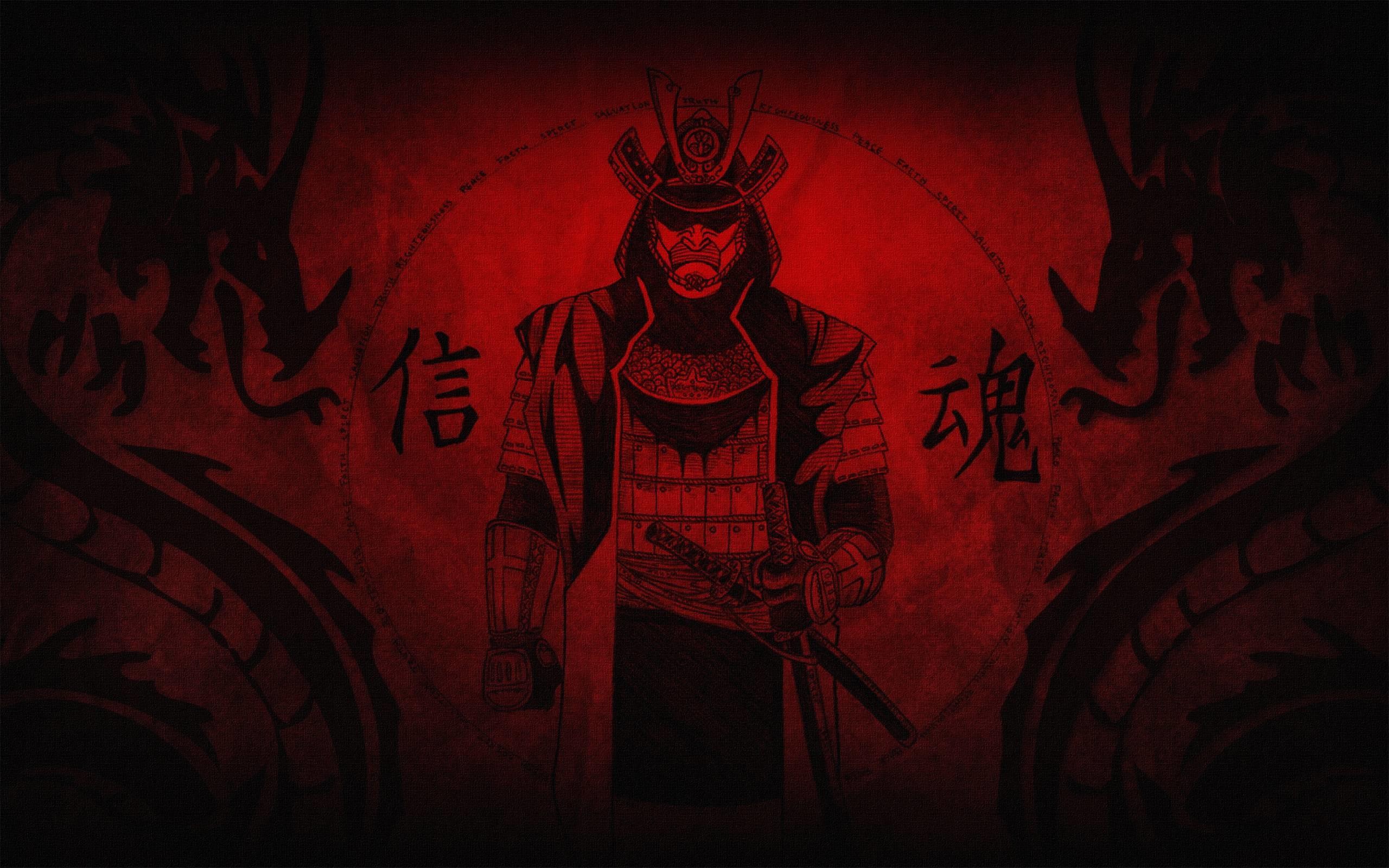 Fantasy Samurai Wallpaper 1920×1200 px Free Download .