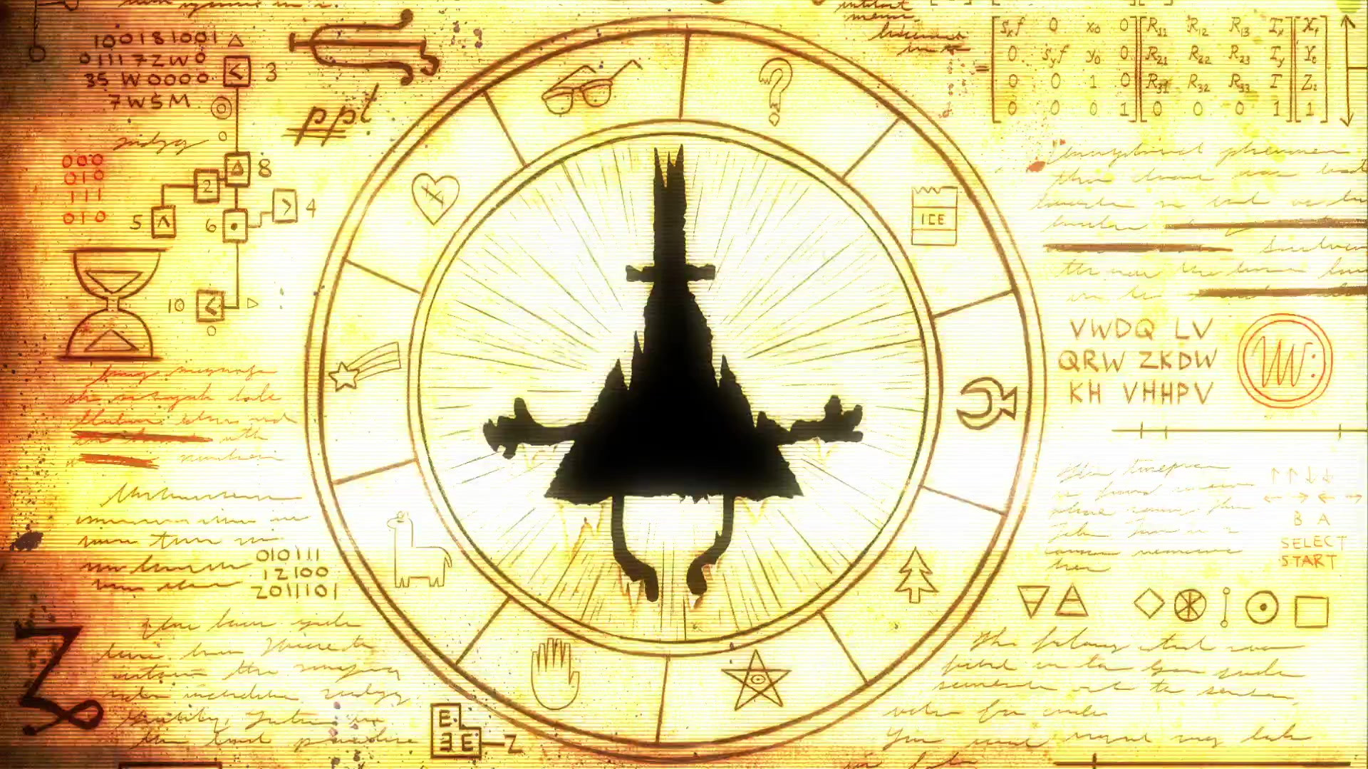 126 Gravity Falls Bill Cipher