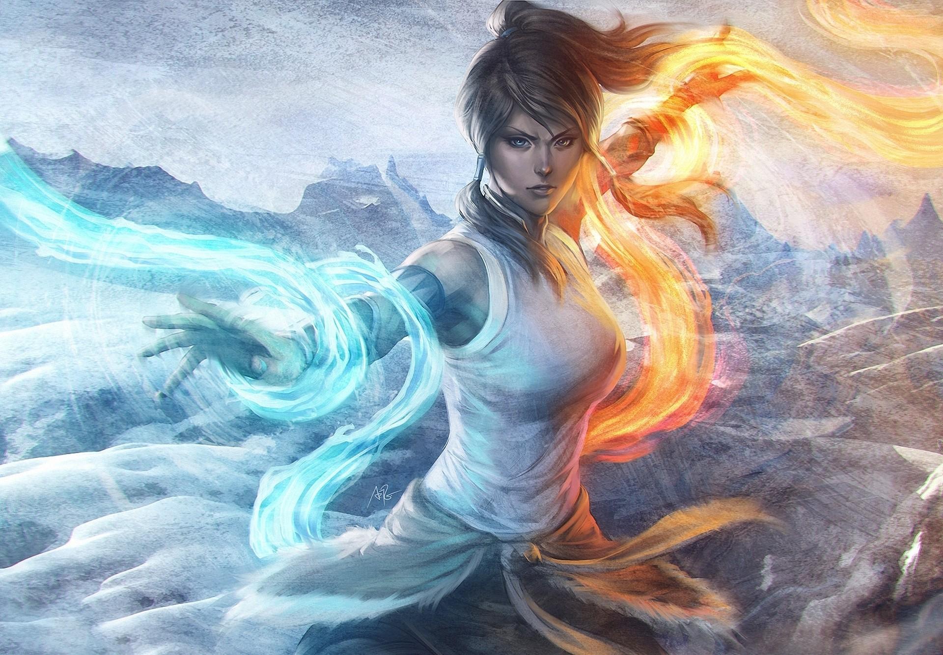 Anime – Avatar: The Legend Of Korra Korra (The Legend Of Korra) Wallpaper
