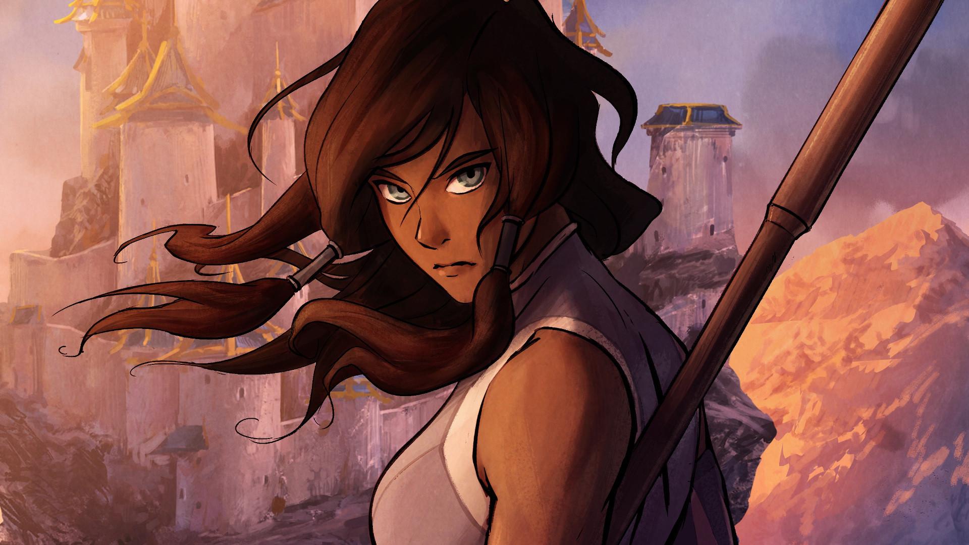 Anime Avatar: The Legend Of Korra Wallpaper