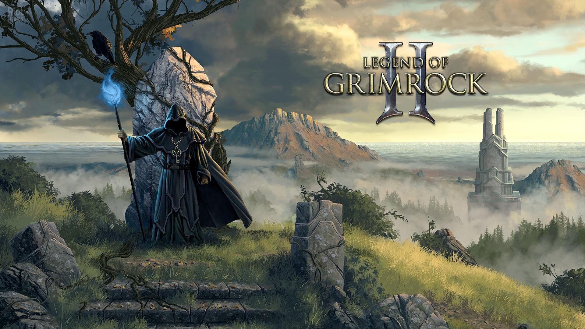 Legend of Grimrock II wizard