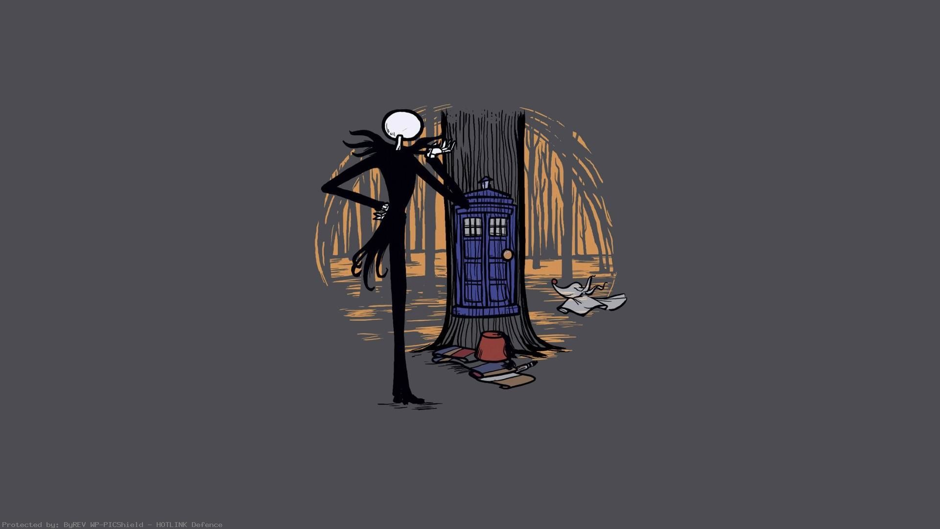 Crossover-The-Nightmare-Before-Christmas-and-images-wallpaper-