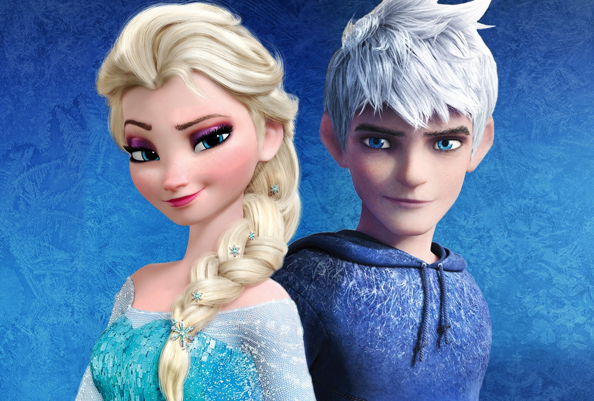 free elsa and jack frost Picture