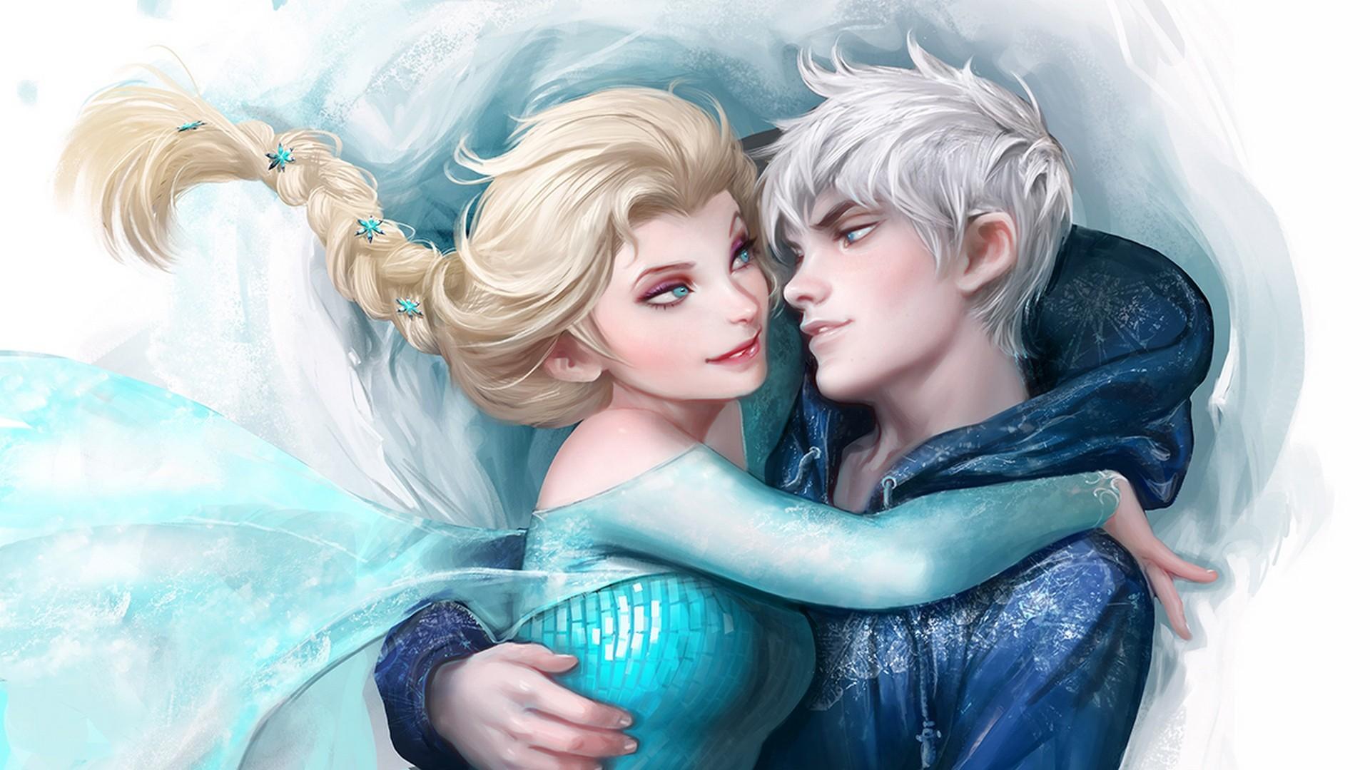 Wallpaper jack frost, winter spirit, frozen, elsa, snow queen,  rise