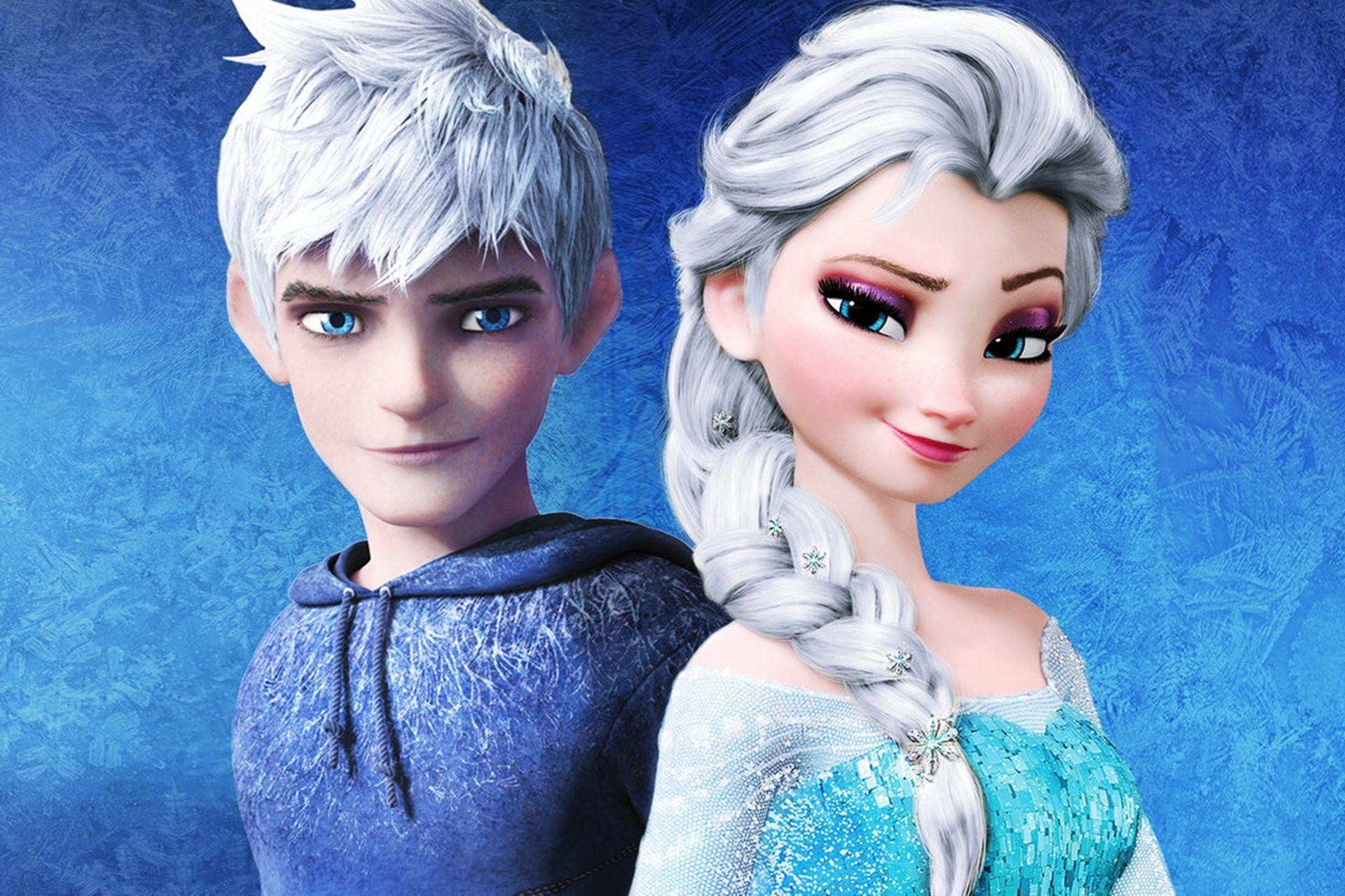 Elsa and Jack Frost Wallpapers – WallpaperSafari
