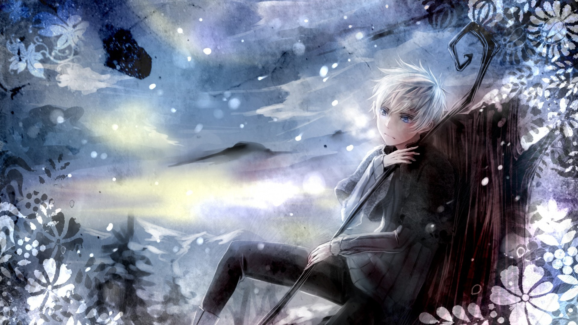 Preview wallpaper keepers of dreams, jack frost, character, art 1920×1080