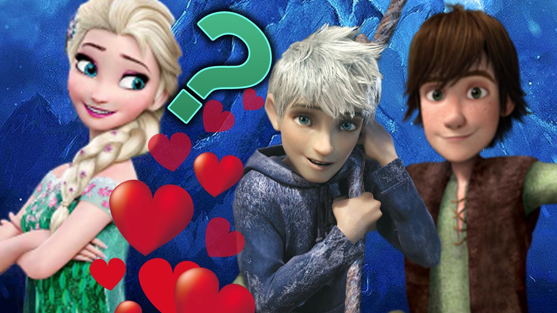 Elsa in Love with Hiccup or Jack Frost? – Disney Frozen Princess Elsa and Jack  Frost Games For Kids – YouTube