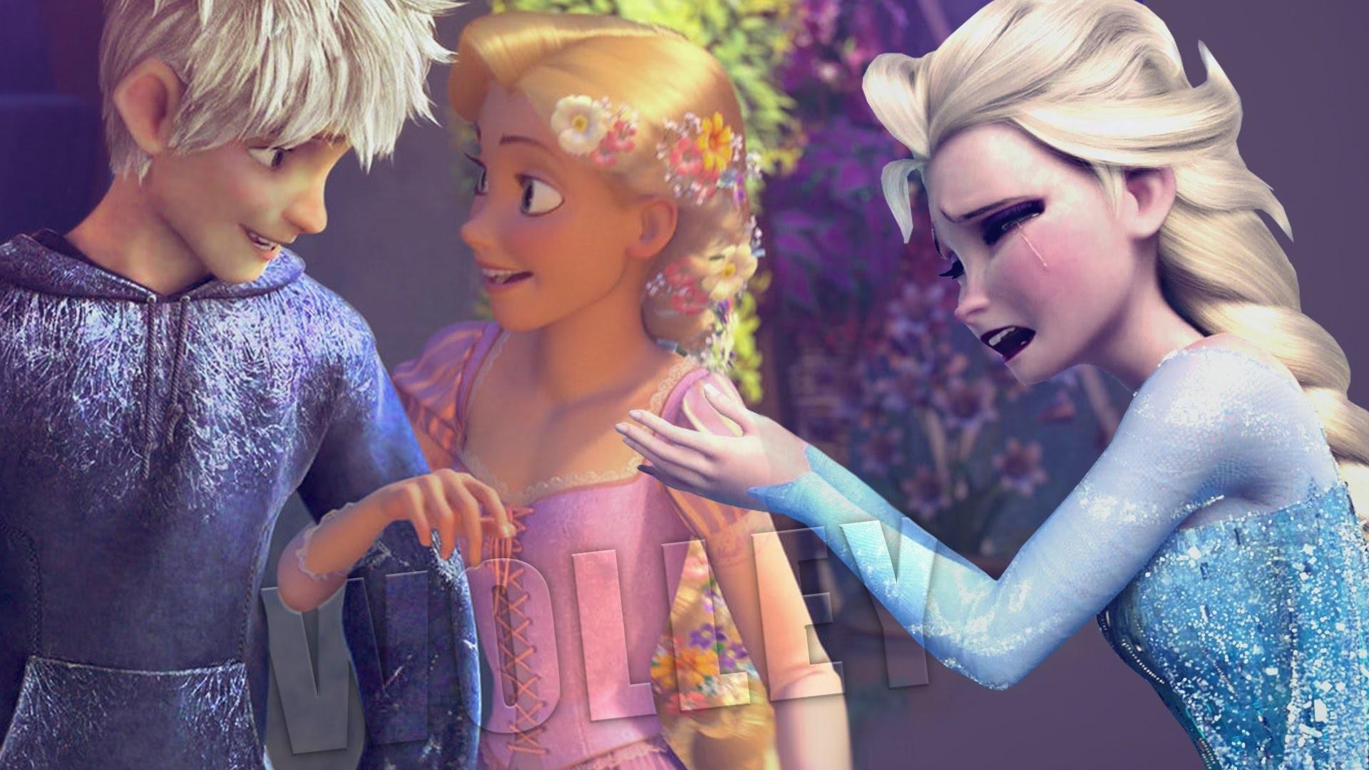 Jack Frost Leaving Elsa For Rapunzel! Sad or Happy? – Disney Frozen &  Tangled Puzzle Game For Kids