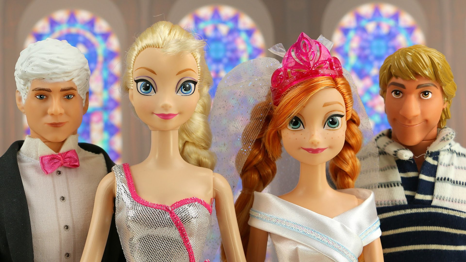 Anna and Jack Frost Wedding – Can Frozen Elsa Stop It in Time?  DisneyToysFan – YouTube