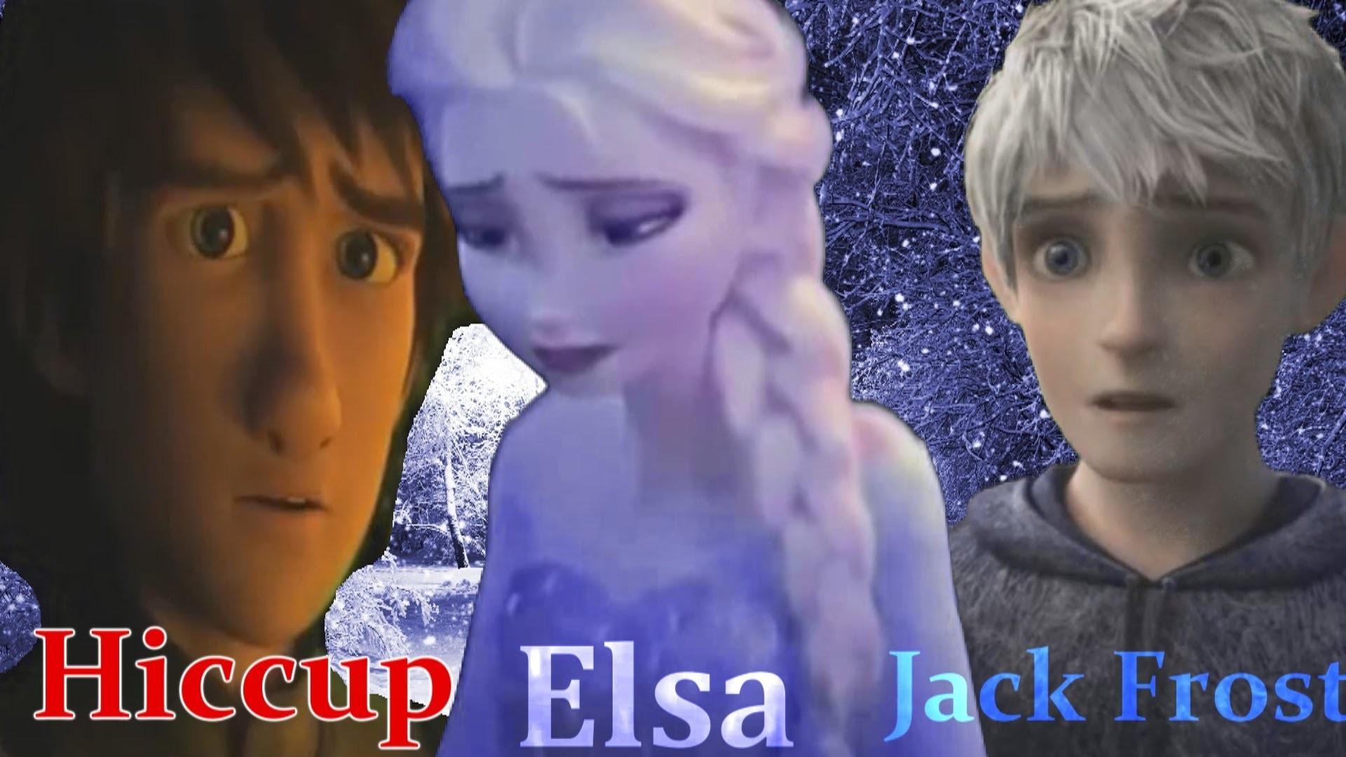 Hiccup-Elsa-Jack