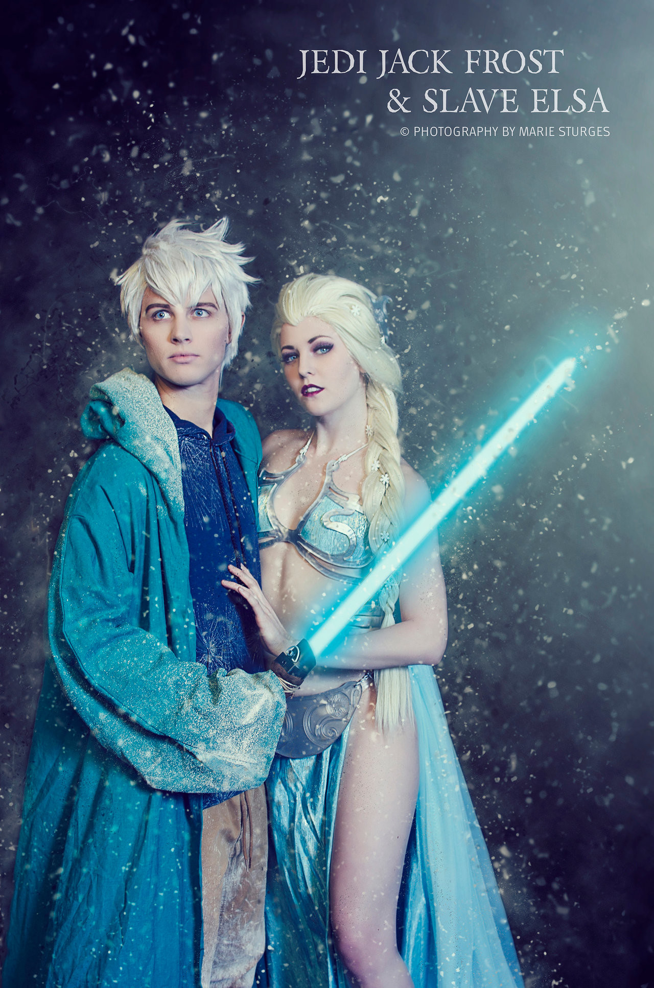 Jedi Jack Frost and Slave Elsa by mariesturges.deviantart.com on  @DeviantArt<