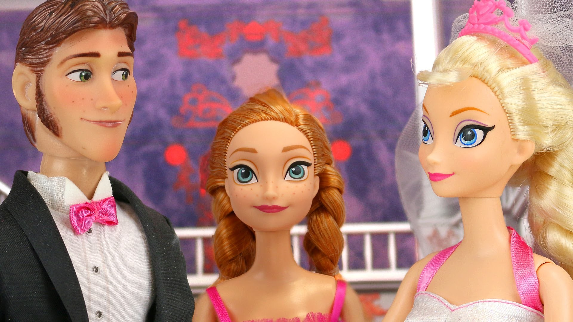 Frozen Elsa Wedding to Hans. Will Jack Frost Stop It In Time? With Anna and  Barbie. DisneyToysFan – YouTube