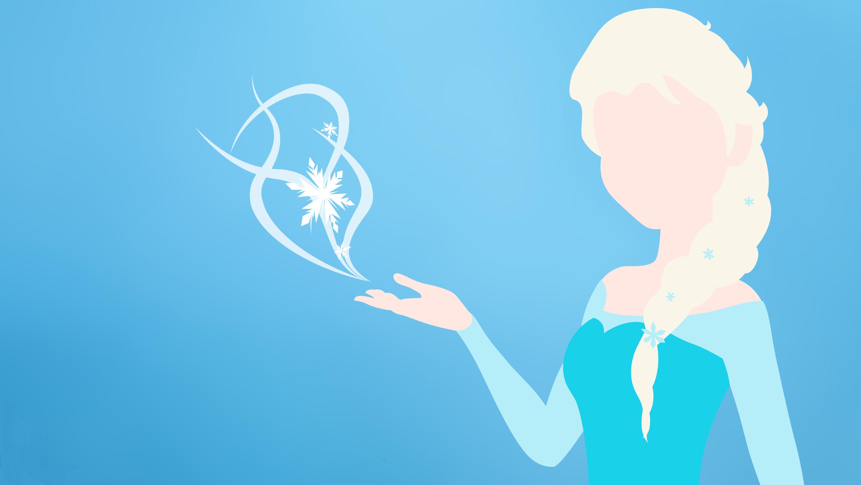 Elsa Minimalistic, Wallpaper