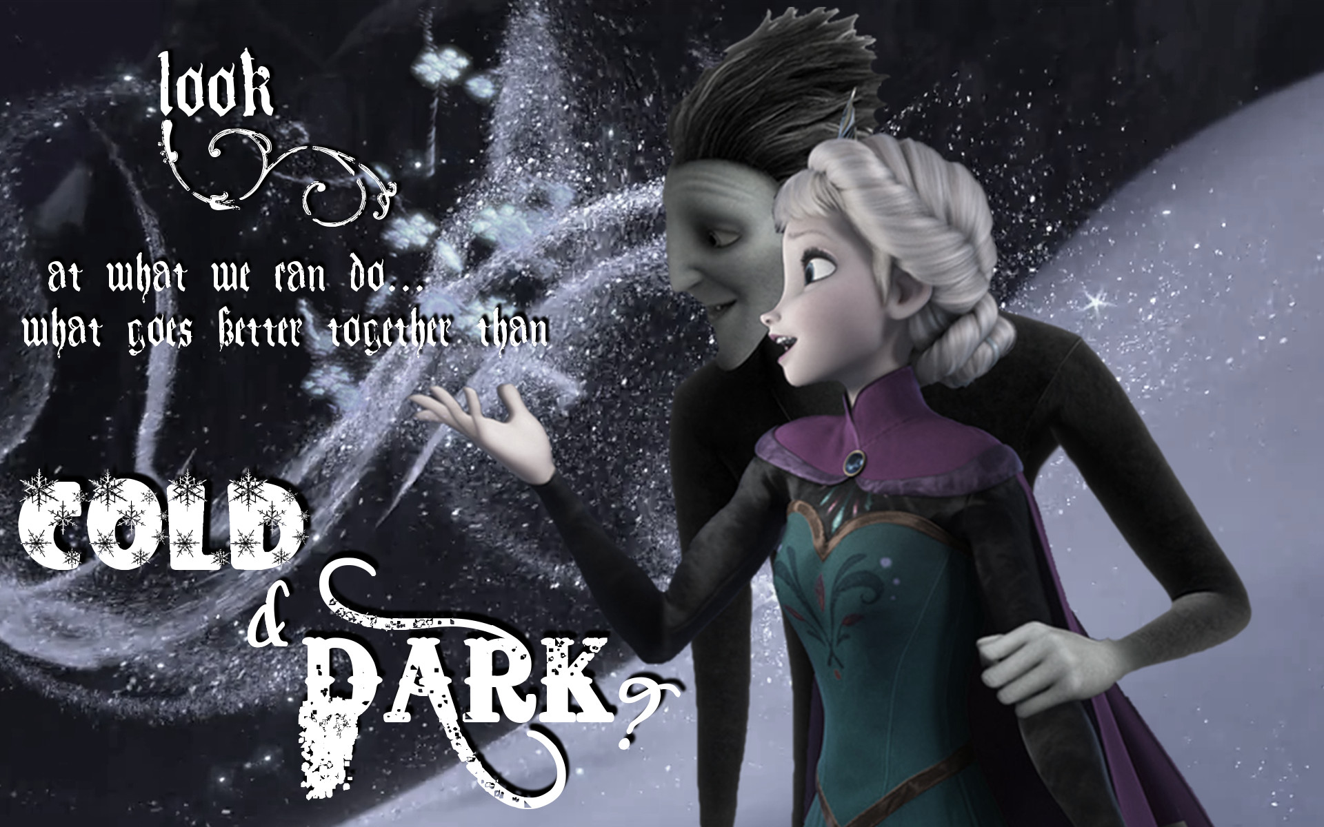Elsa and Pitch images What goes better together than Cold and Dark? HD  wallpaper and background photos