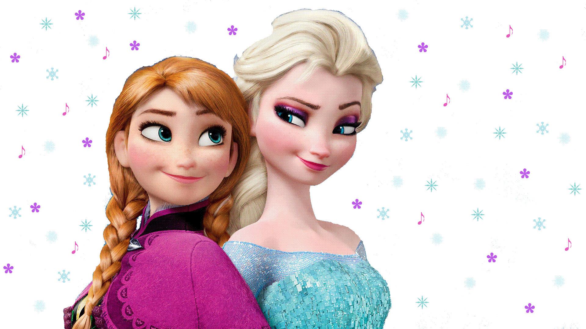 … Elsa And Anna Animated Wallpaper