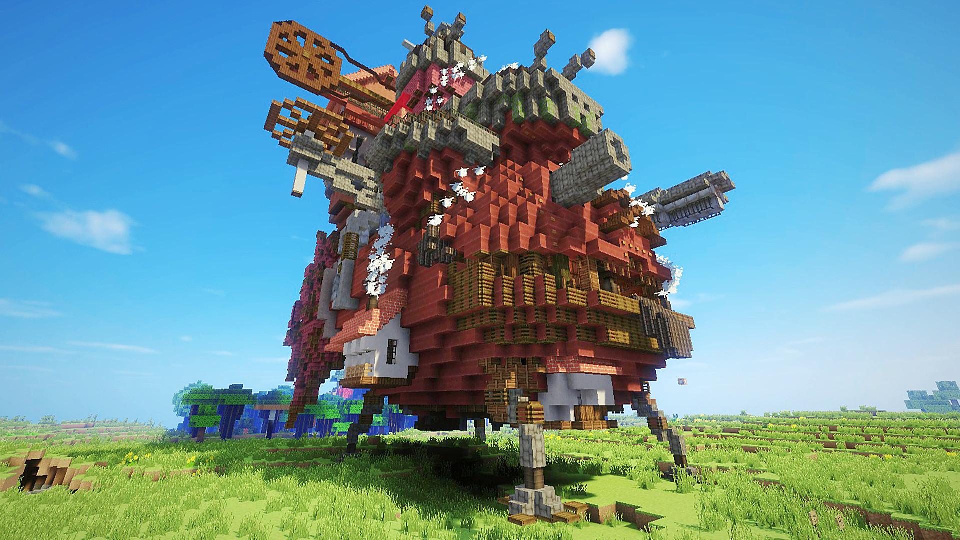 BuildsMy friend built Howl's Moving Castle …