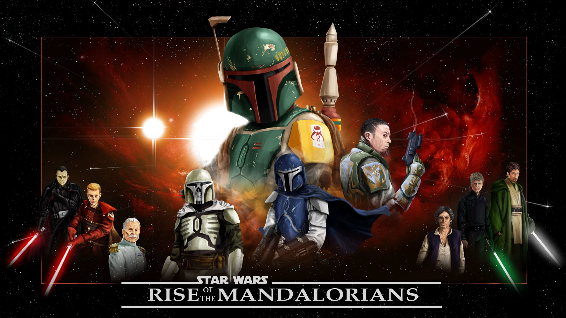 Mandalorians mod for Star Wars: Empire at War: Forces of Corruption .