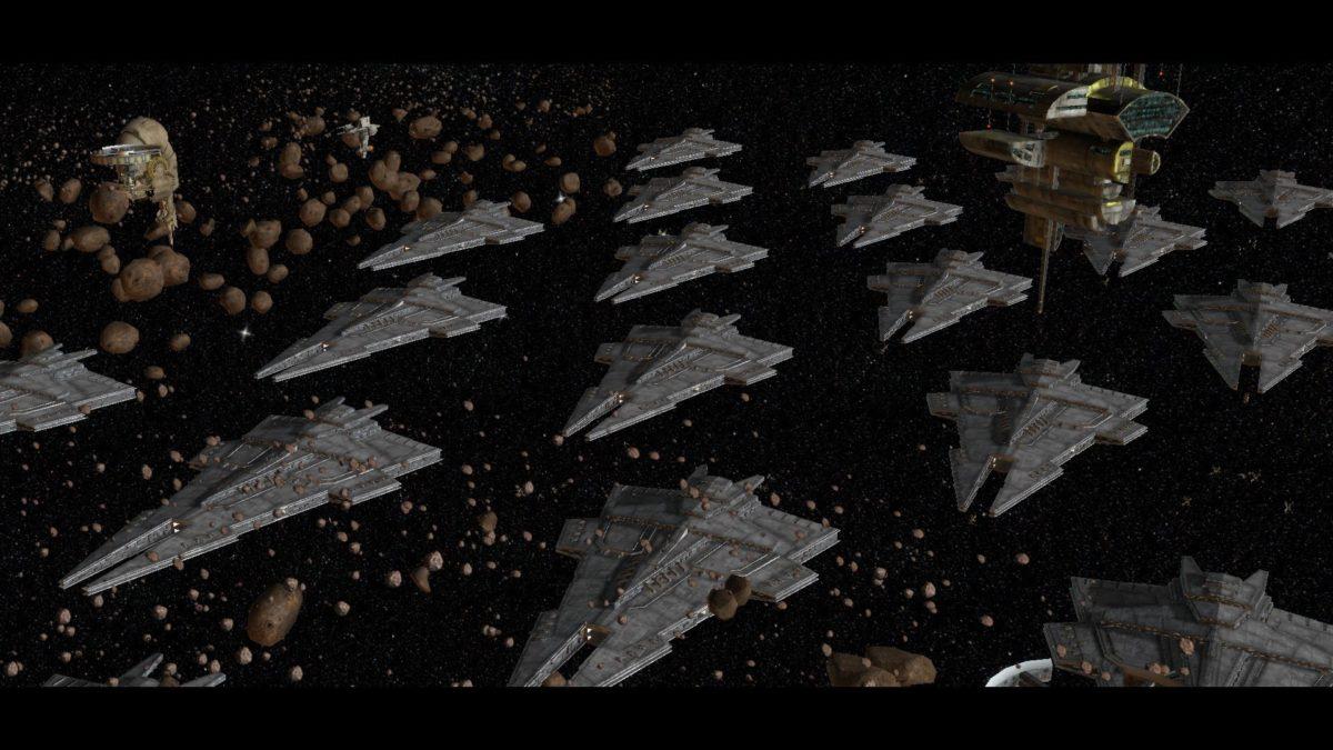 Massive Space Battles Star Wars Battlefront Commander Part