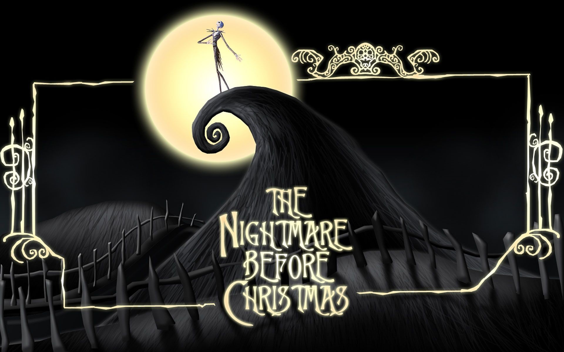 The Nightmare Before Christmas HD desktop wallpaper : High Definition :  Mobile