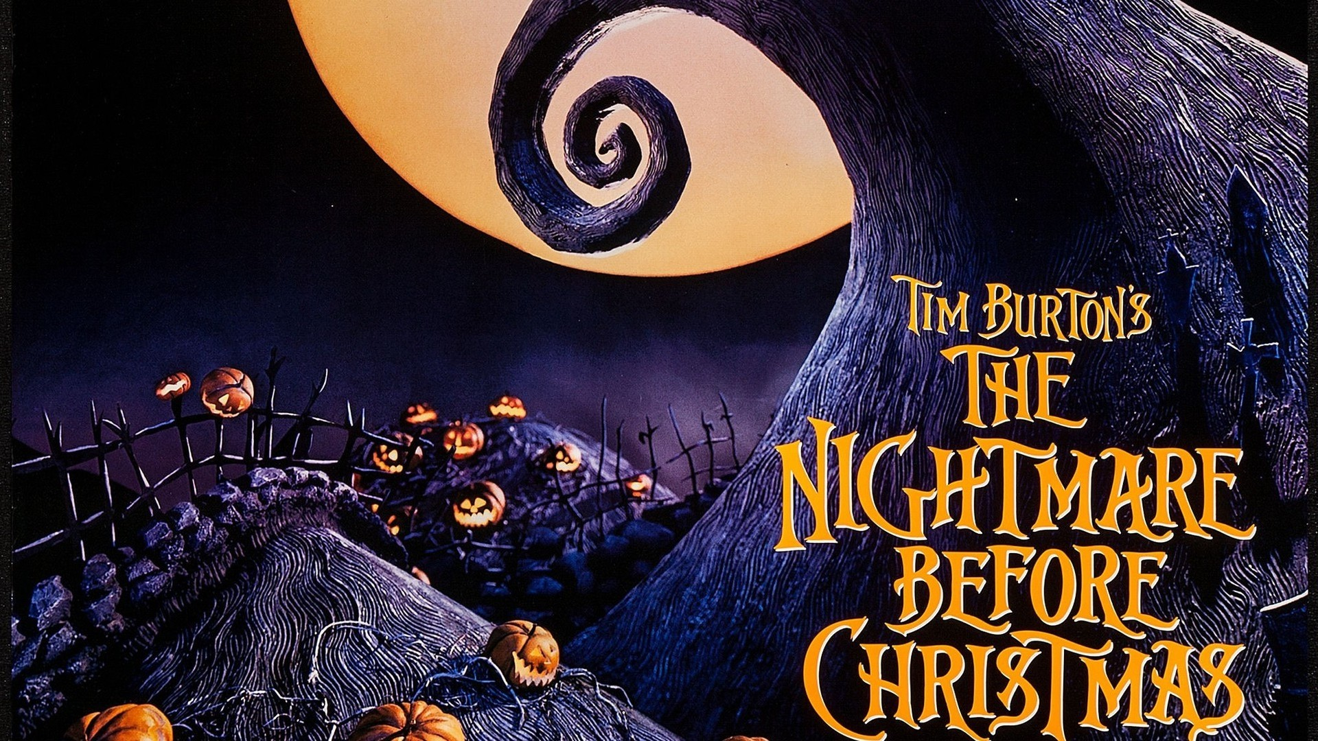 … The Nightmare Before Christmas Wallpaper The nightmare before christmas  movie posters wallpapers …