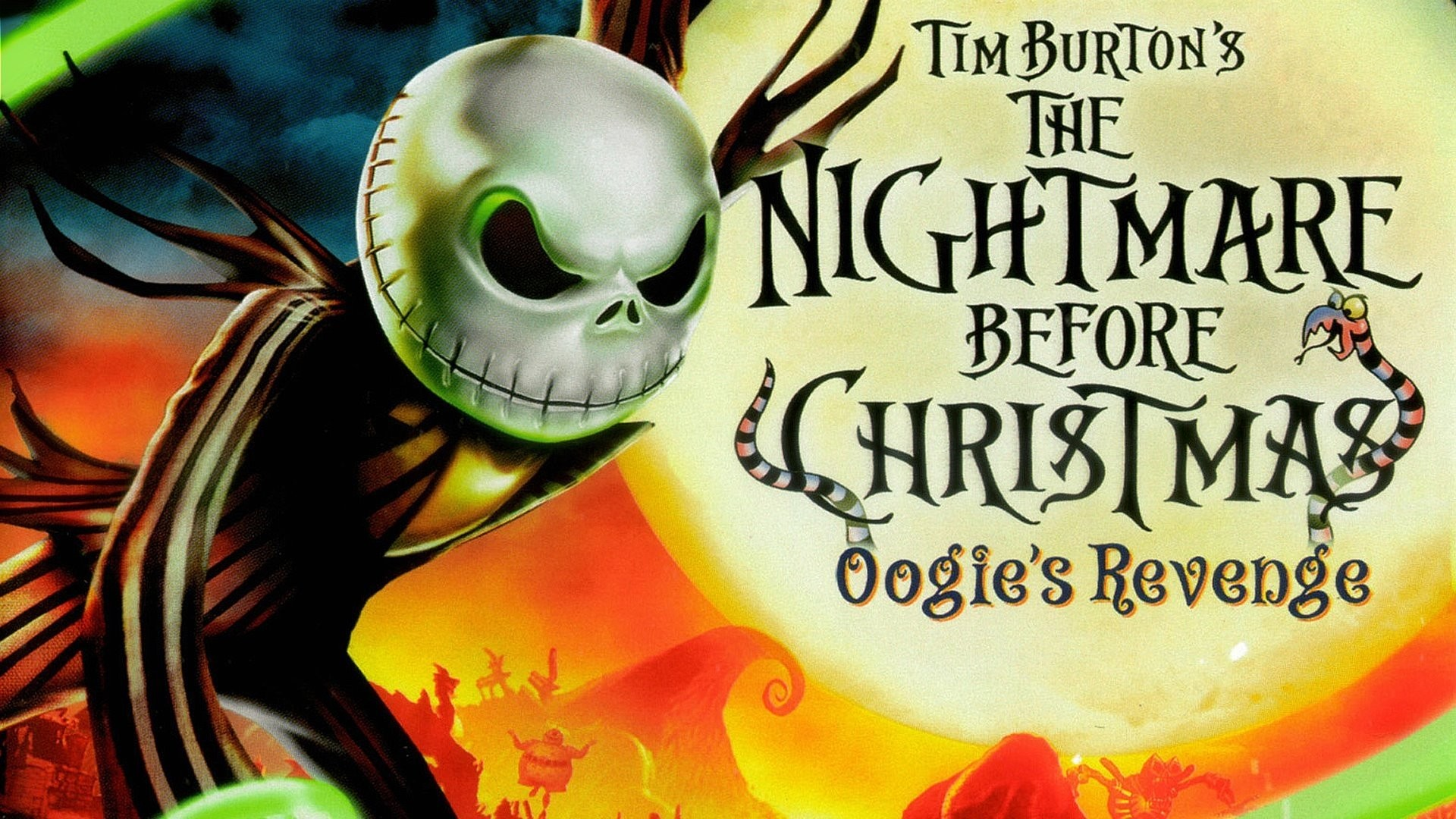 Movie – The Nightmare Before Christmas Wallpaper