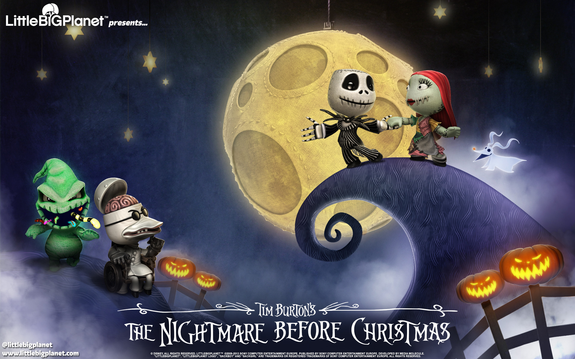 … The Nightmare Before Christmas wallpaper, available in a variety of  sizes! undefined · 16:10 Widescreen