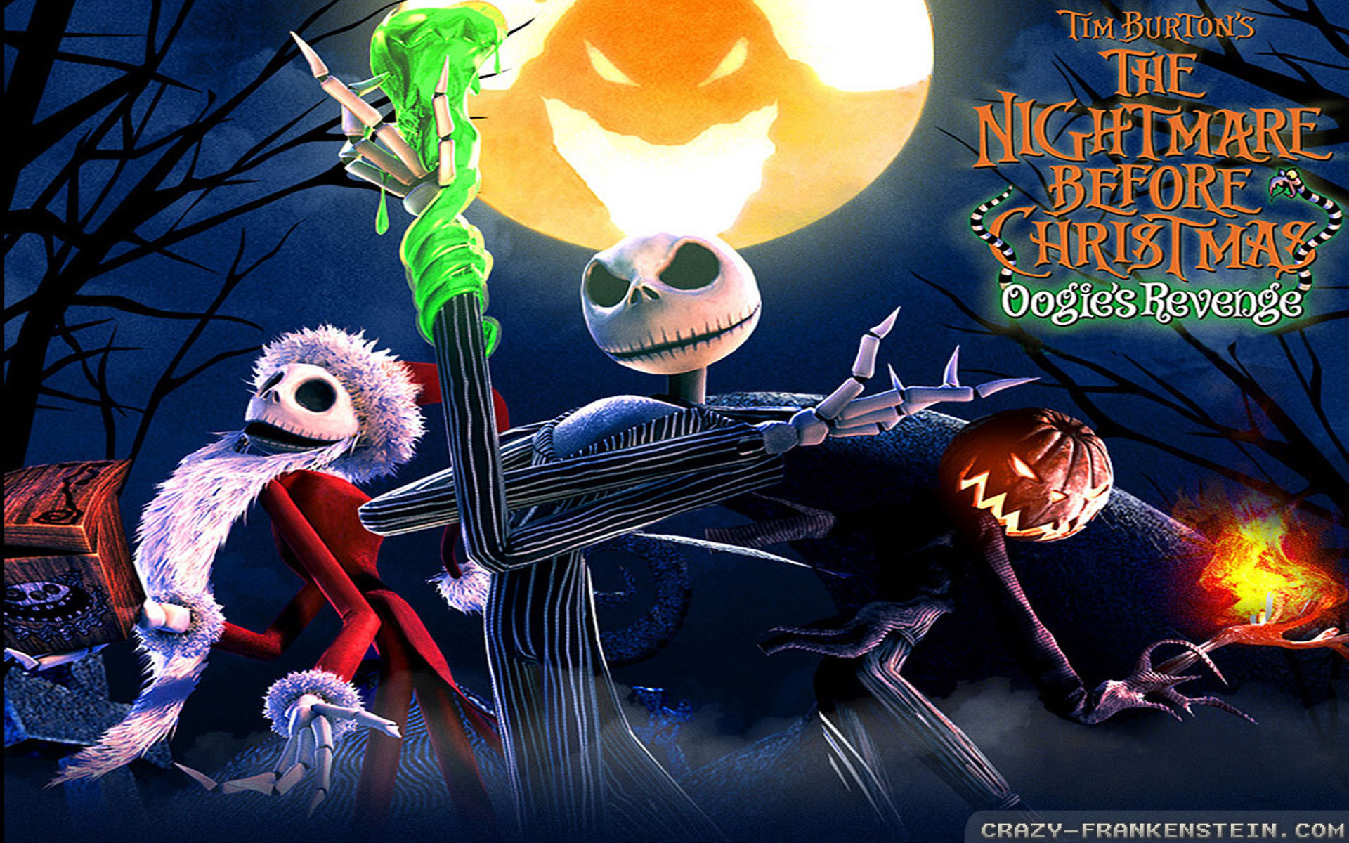 25 best ideas about Nightmare before christmas wallpaper on .