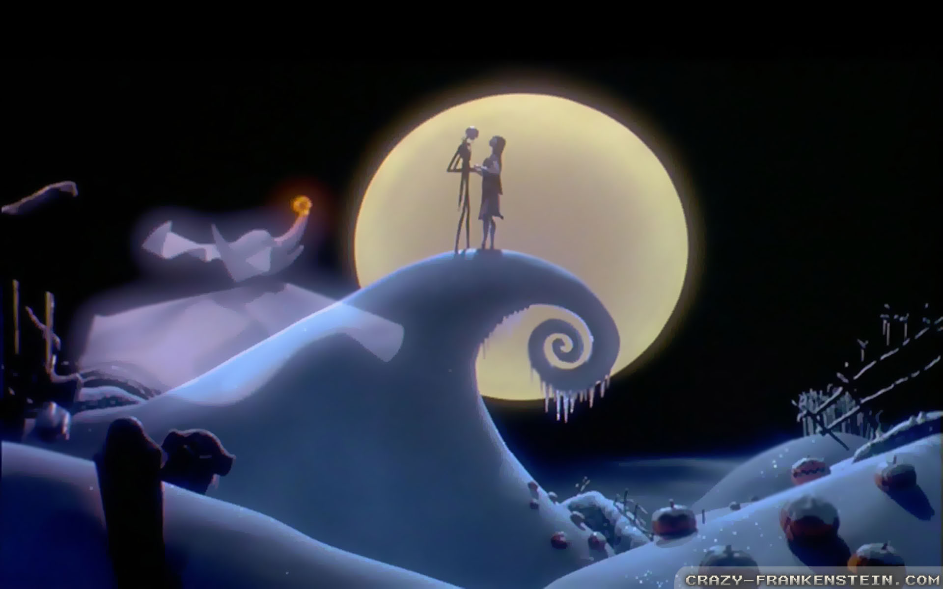 The <b>Nightmare Before</b> Christmas Now And Forever Poster  