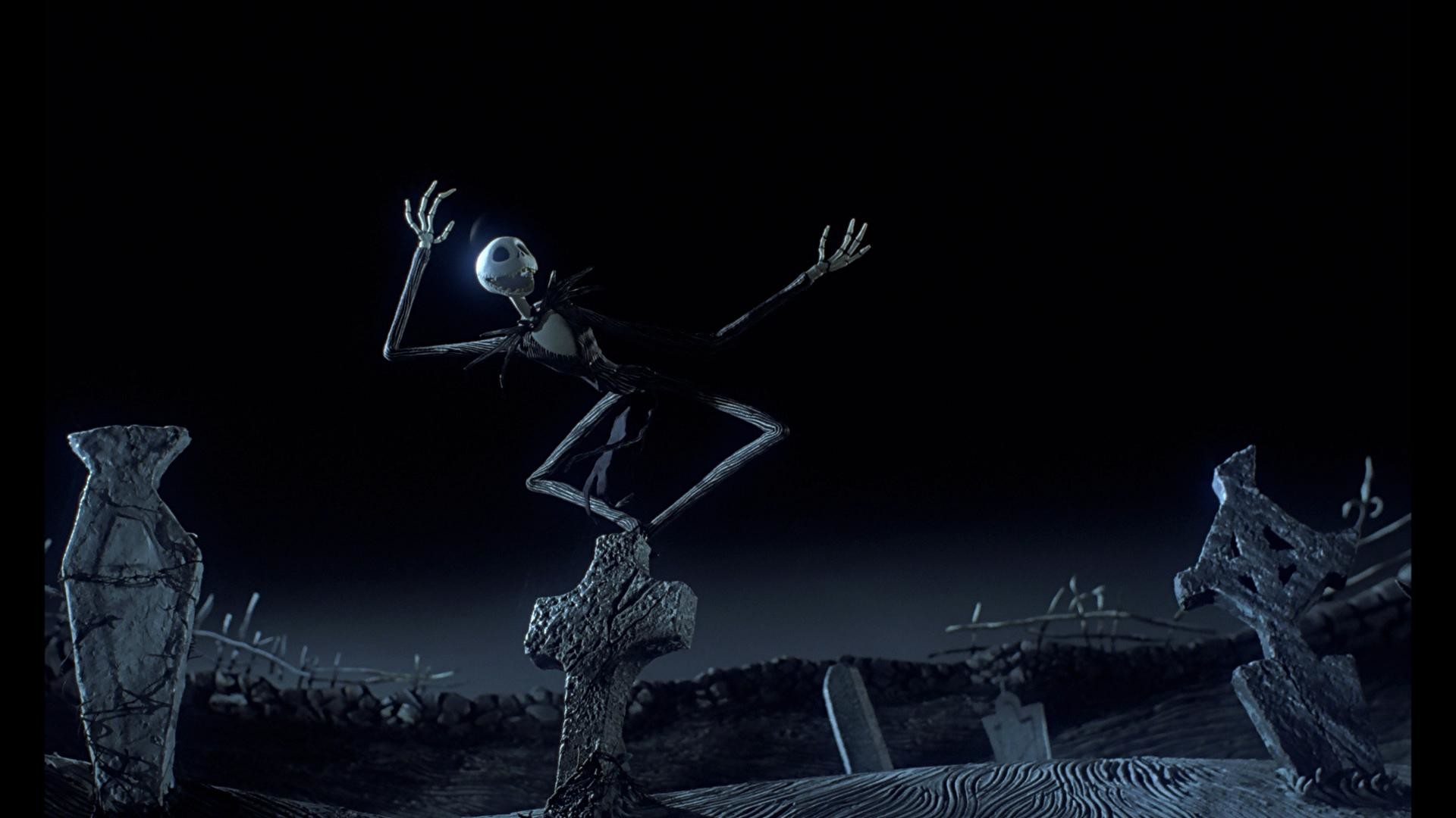 The Nightmare Before Christmas background
