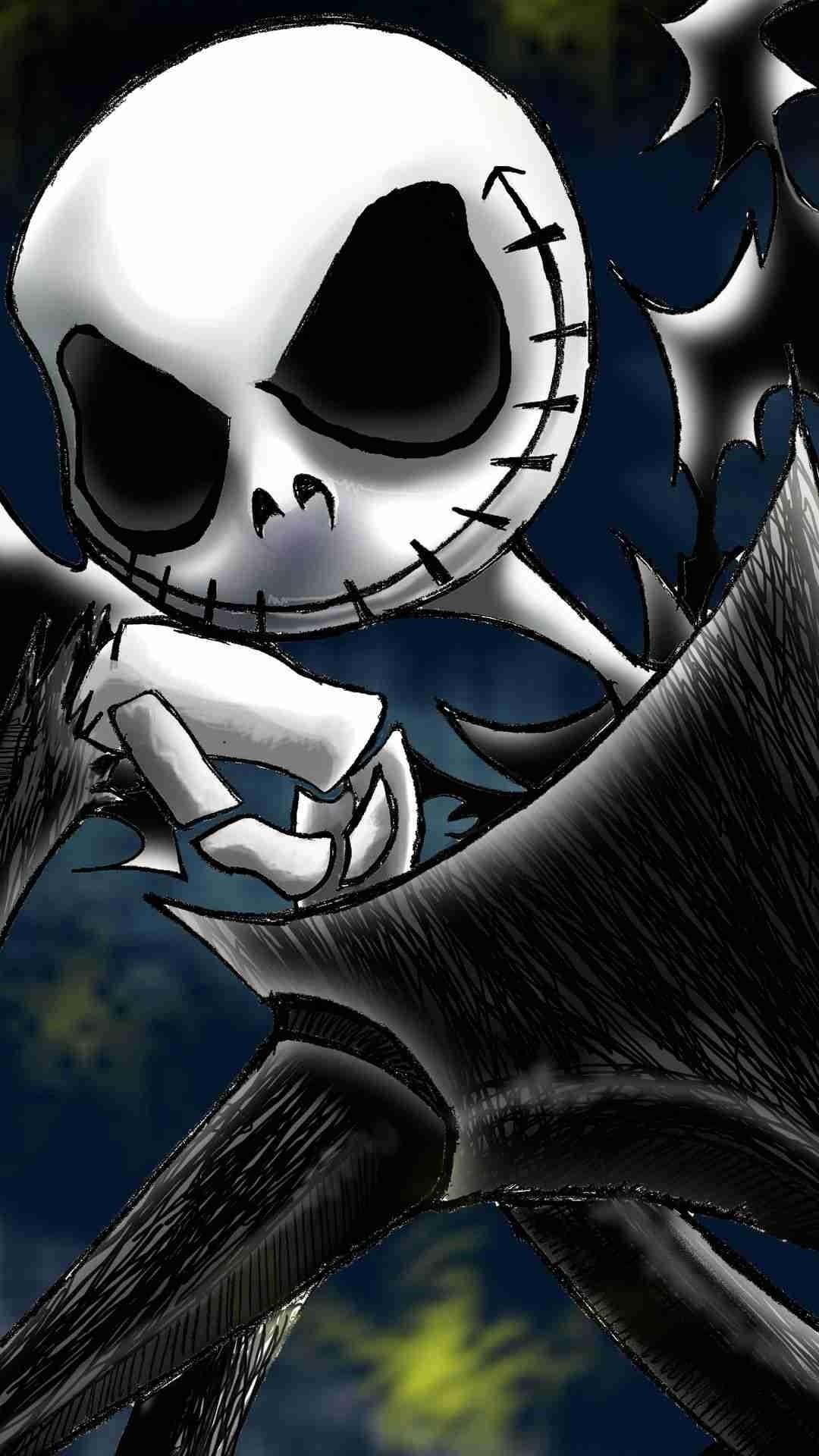 2014 Halloween Jack Skellington iPhone 6 Wallpaper – Insipired Nightmare  Before Christmas #2014 #Halloween