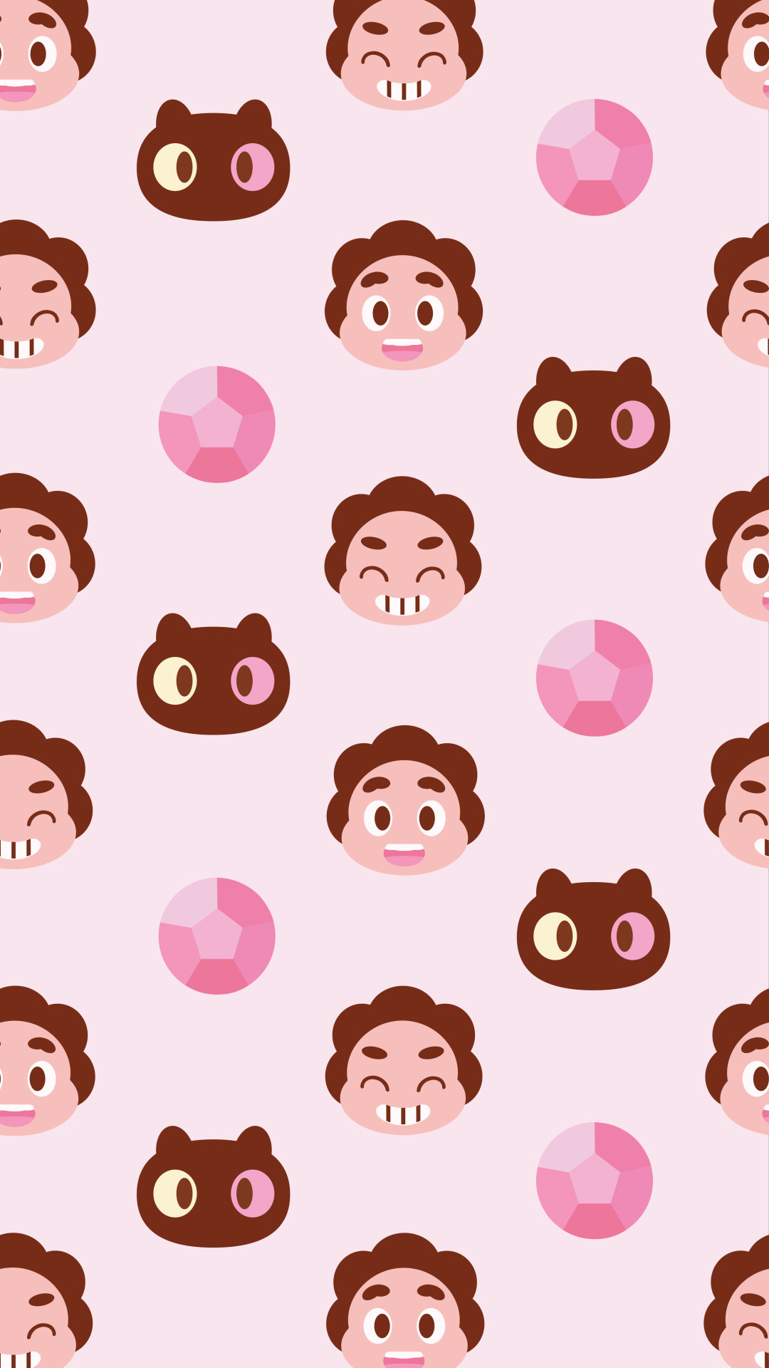 strawberry boy, steven wallpapers for your phone! you can get both.