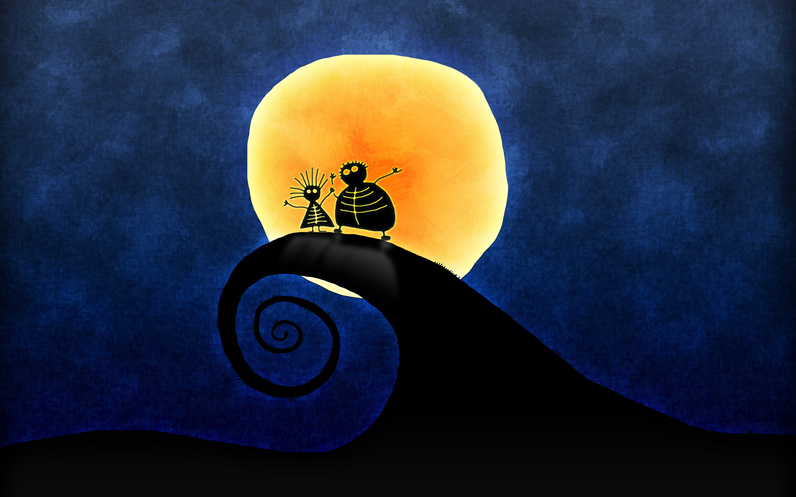 Download Jack and Sally from Nightmare Wallpaper