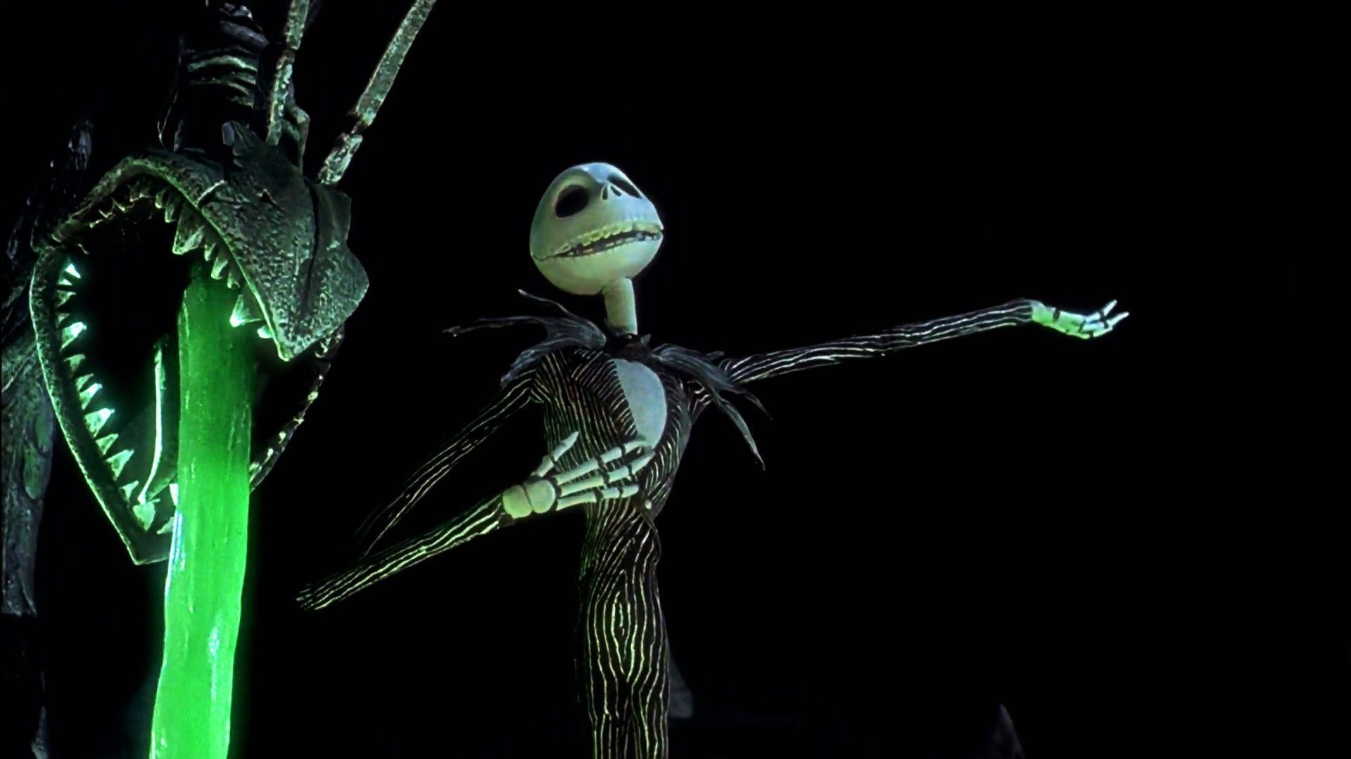 Wallpapers For > Jack Skellington Christmas Wallpaper