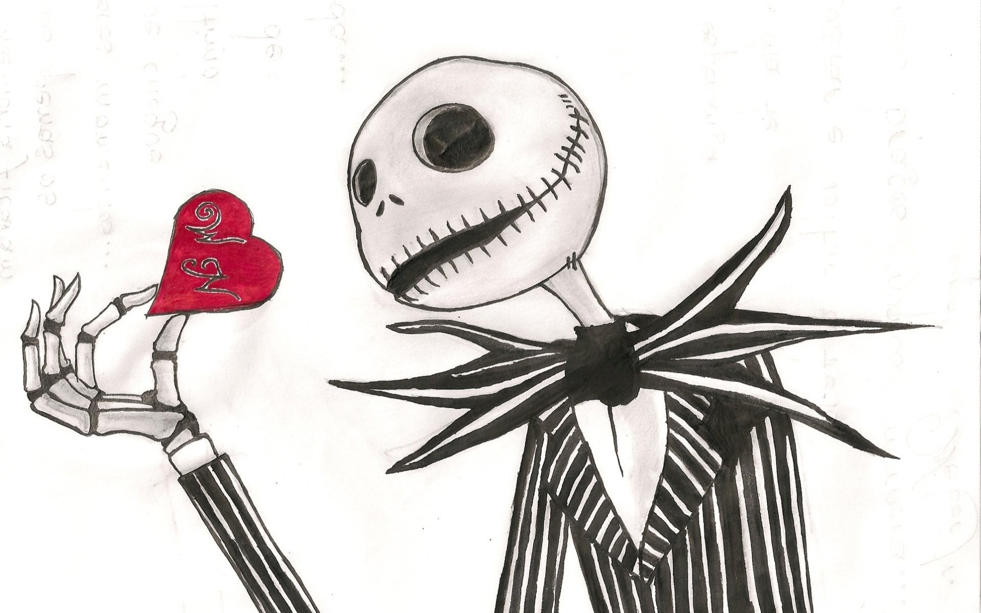 Jack skellington the nightmare before christmas dark skull love romance  mood art wallpaper | | 28354 | WallpaperUP