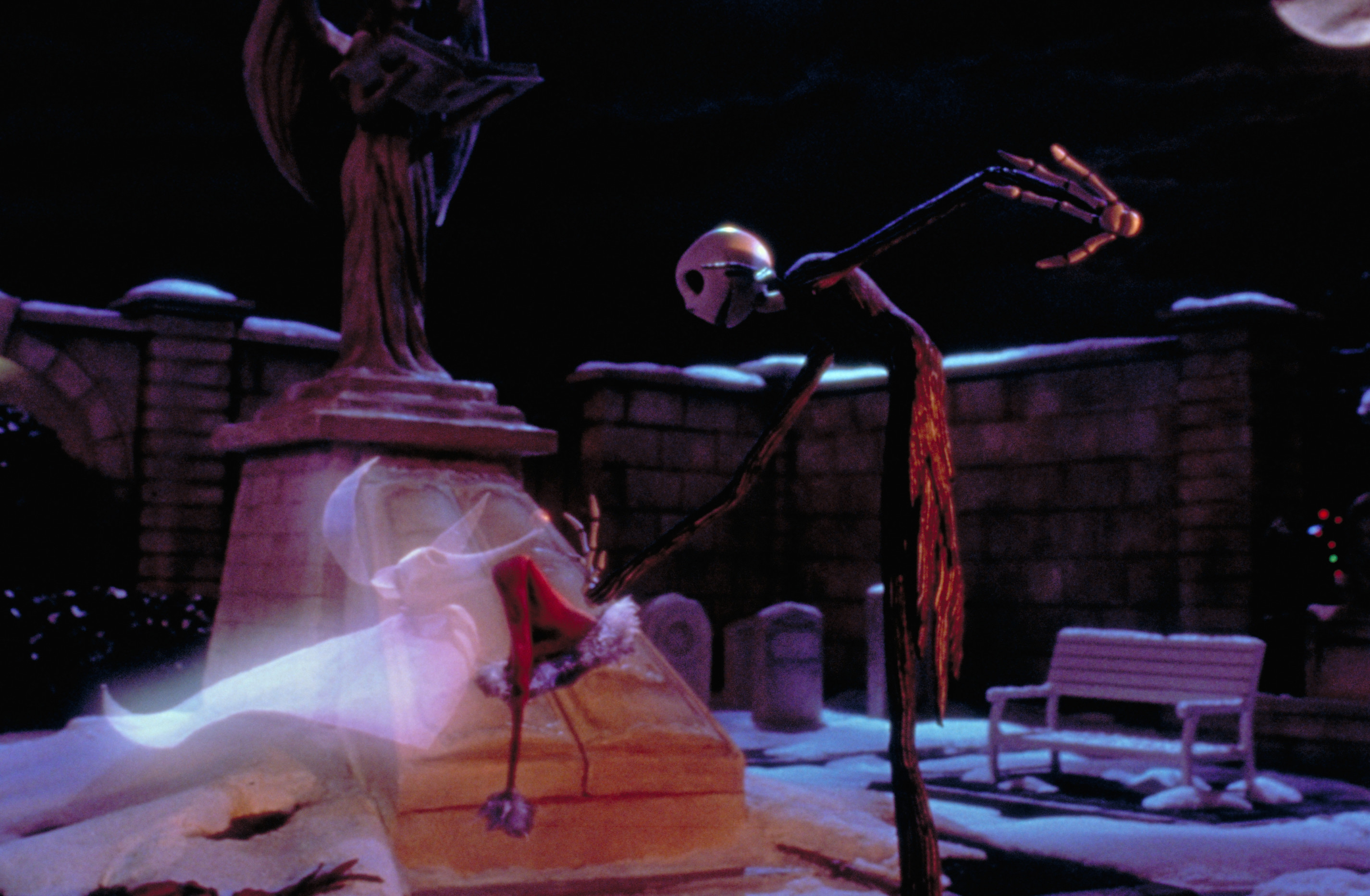 Nightmare before christmas jack skellington and the nightmare before – Zero Jack  Skellington Grave Yard The