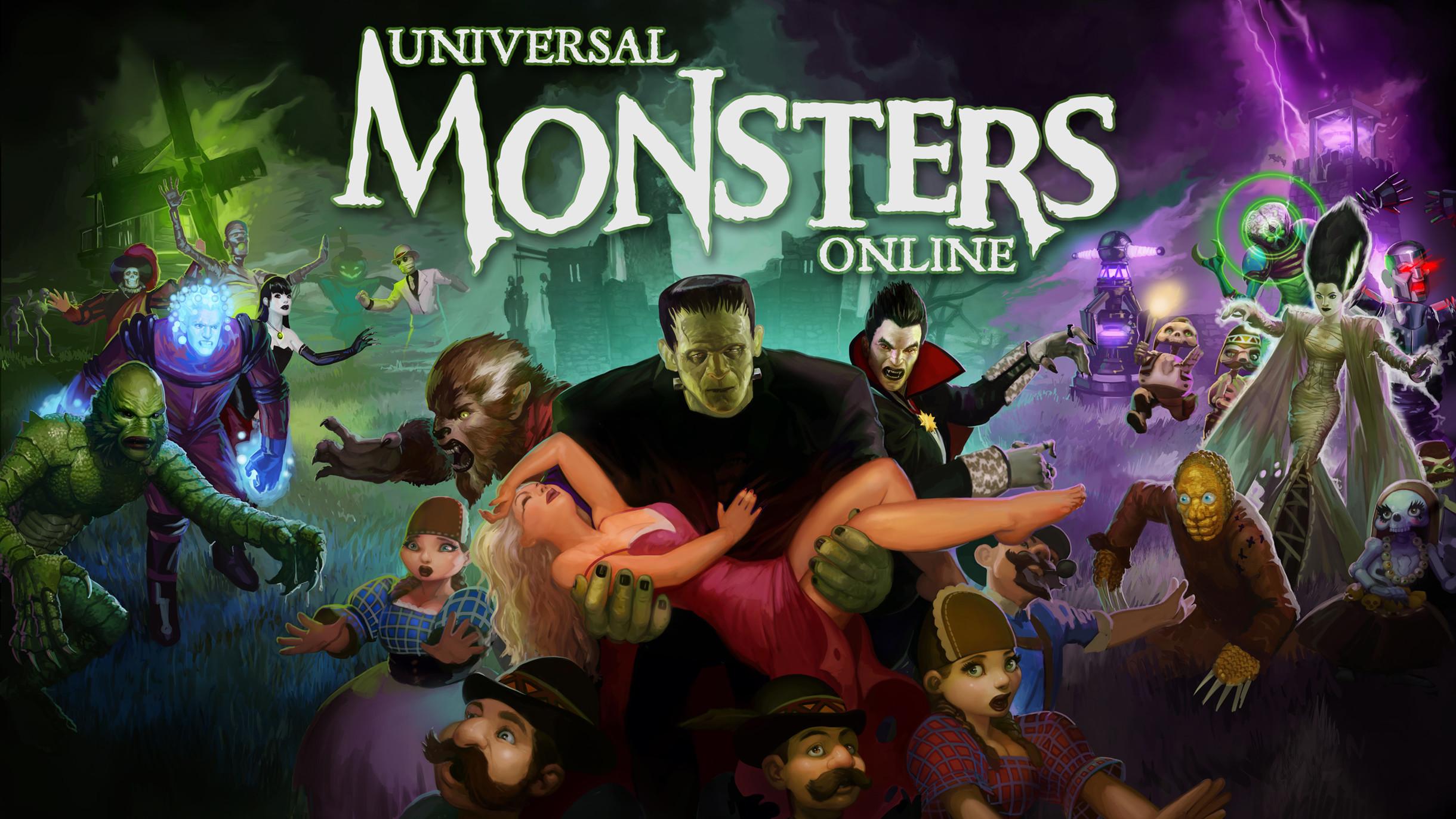 Universal Monsters Logo On universal monsters
