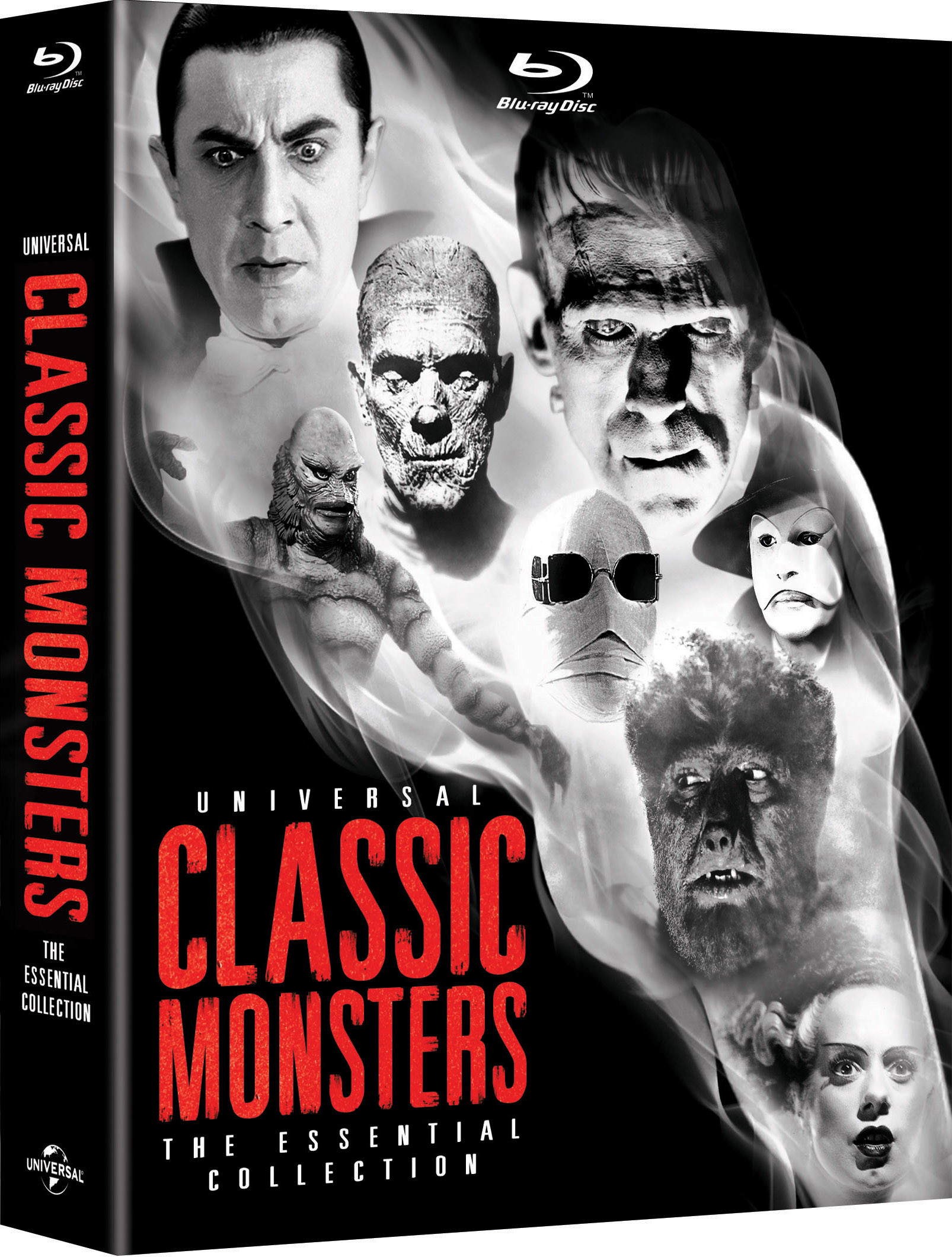 UNIVERSAL CLASSIC MONSTERS: THE ESSENTIAL COLLECTION Debuts On Blu-ray  October 2, 2012 – We Are Movie Geeks