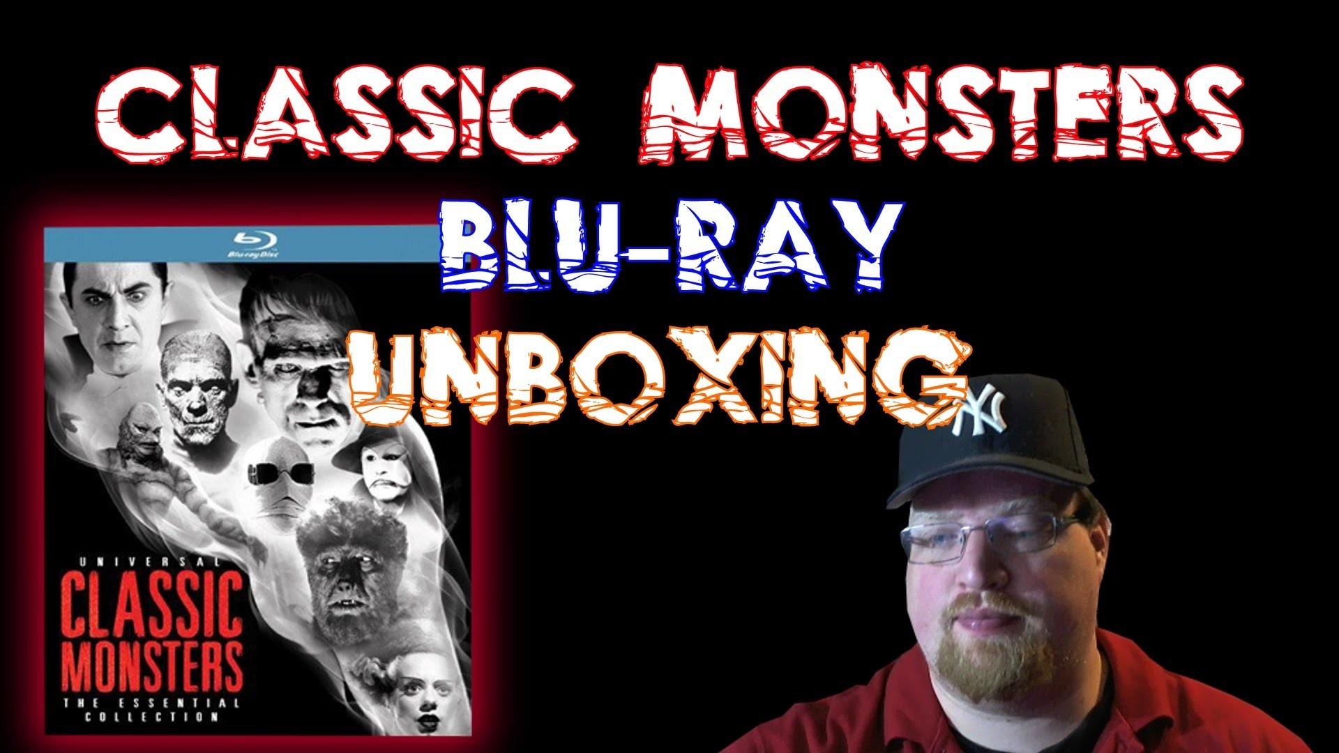 Universal Classic Monsters The Essentials Collection Blu-Ray Unboxing