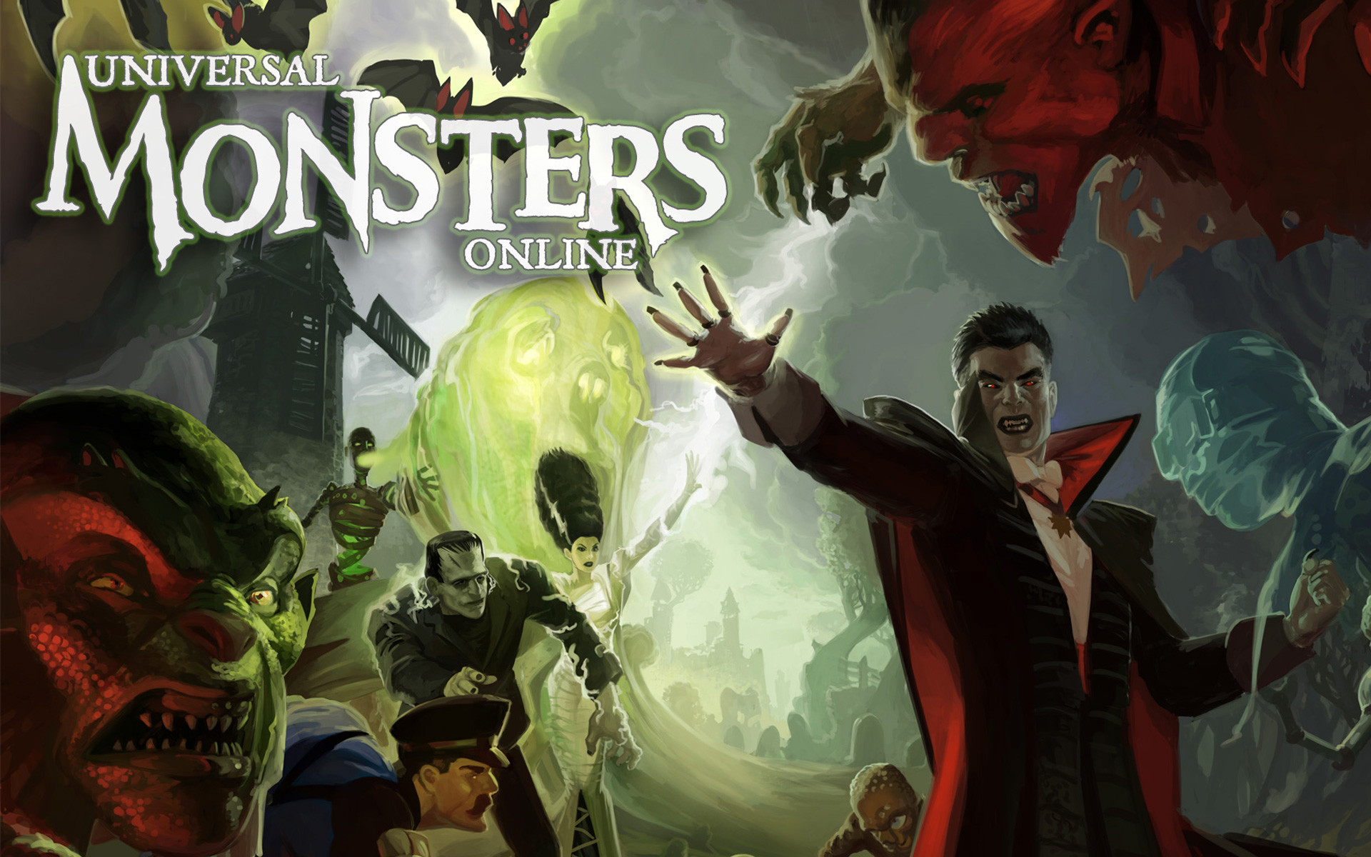 universal monsters online wallpaper, Pc Game Wallpaper, Game Wallpaper .