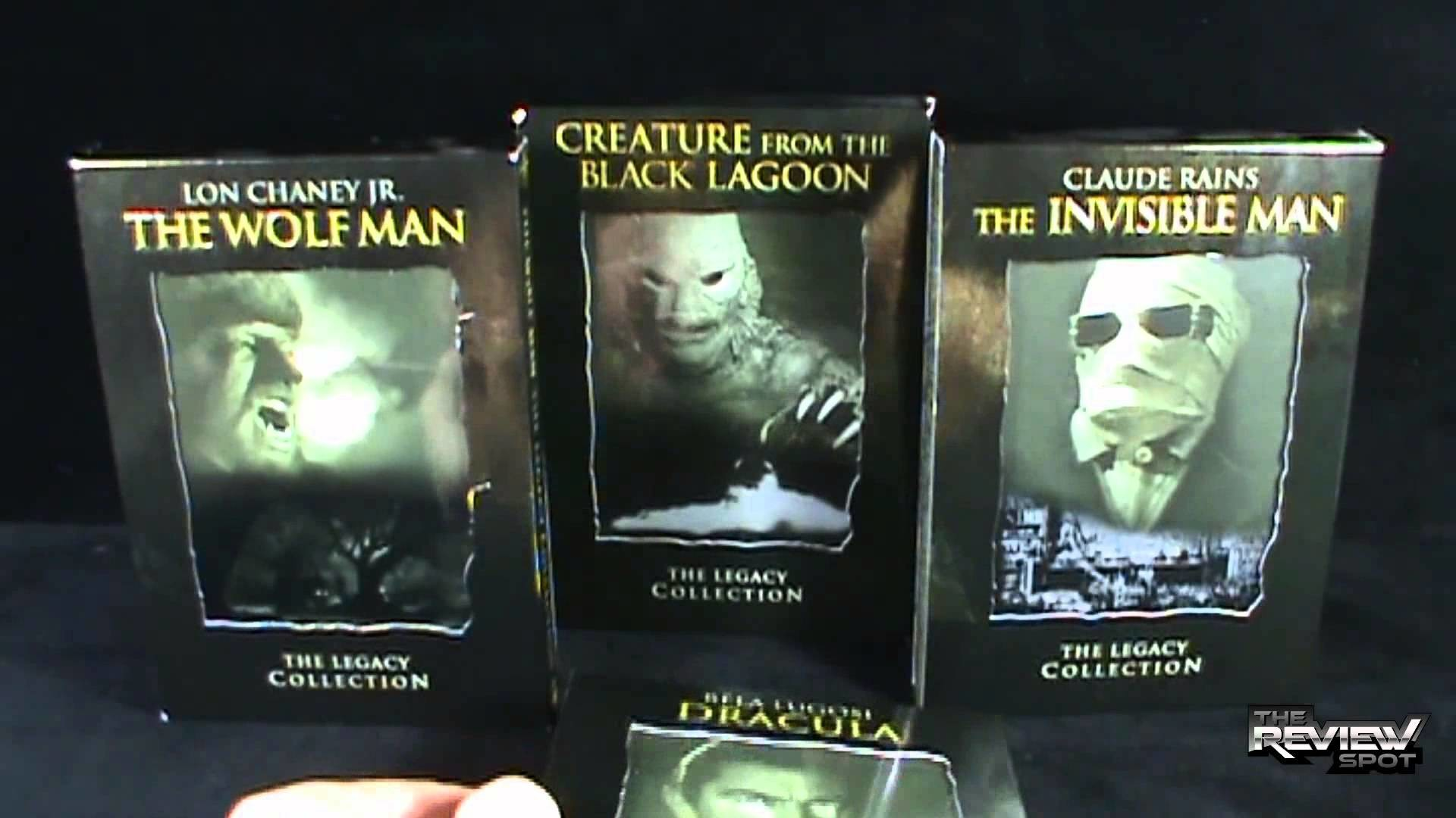Spooky Spot 2013 – Universal Studios Universal Monsters The Legacy  Collection DVDs