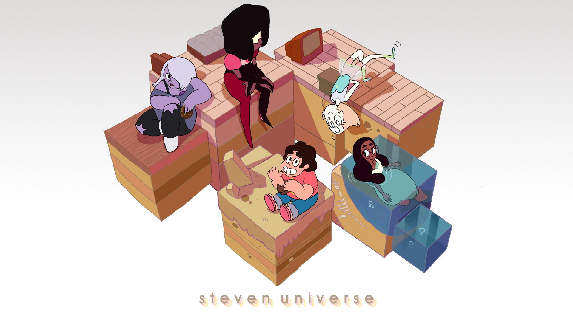 … Steven Universe Wallpaper by chung-sae