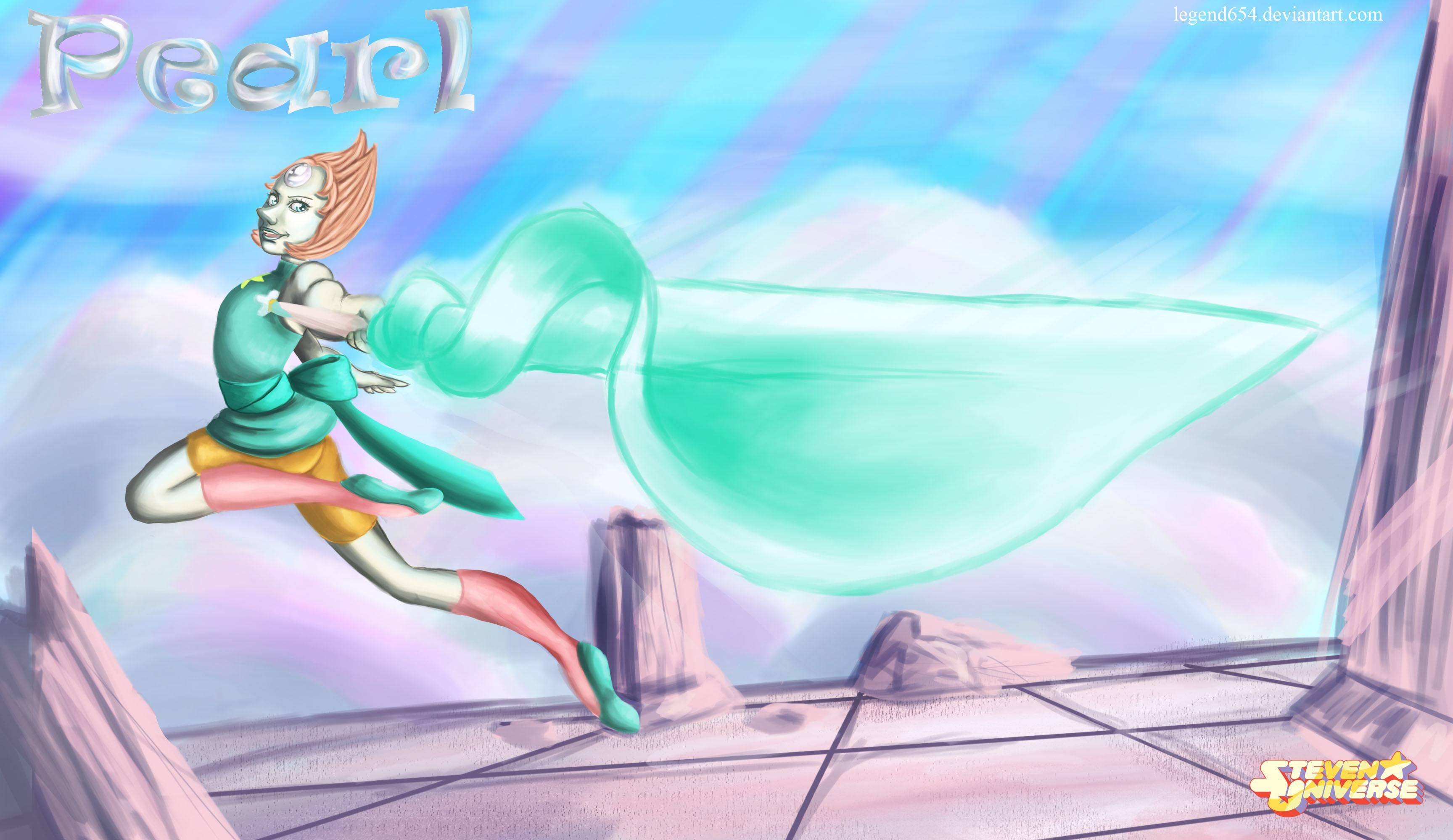 Pearl Steven Universe wallpaper by legend654 on DeviantArt