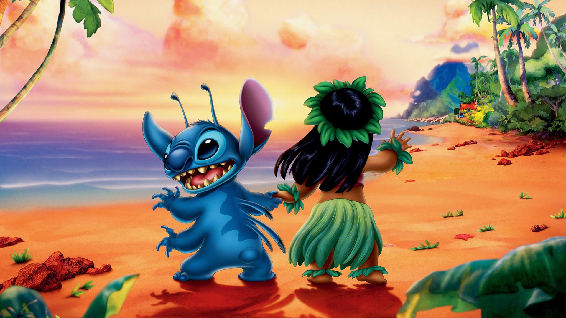 Lilo And Stitch Hula wallpaper – 780626