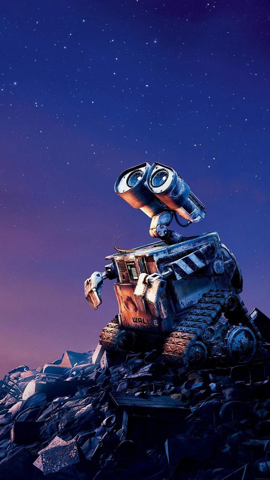 Tap image for more iPhone Disney wallpaper! Wall E Disney want go home – @