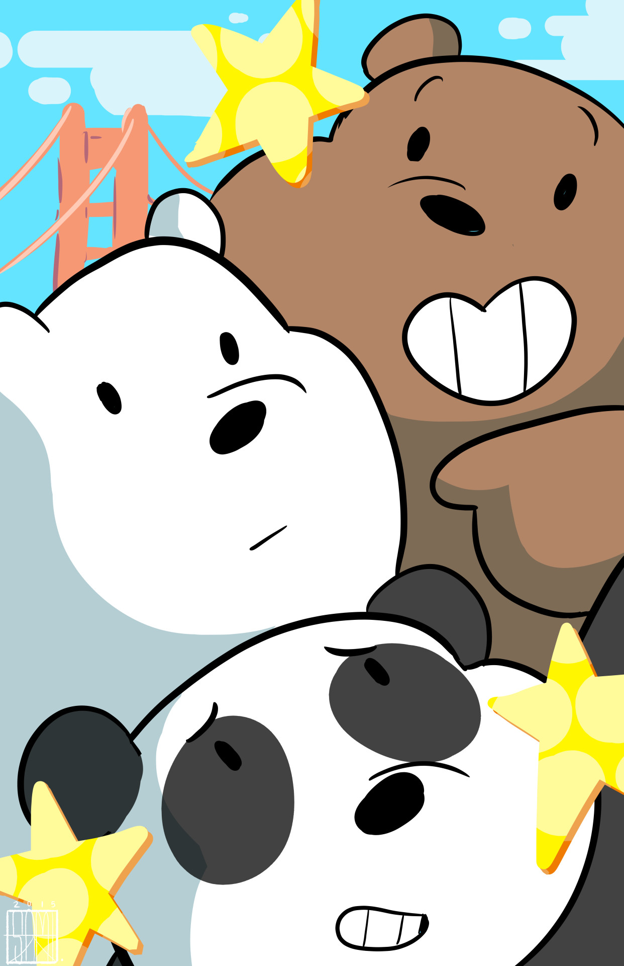 Amazing 6831745 We Bare Bears IPhone Wallpapers | 1242×1920